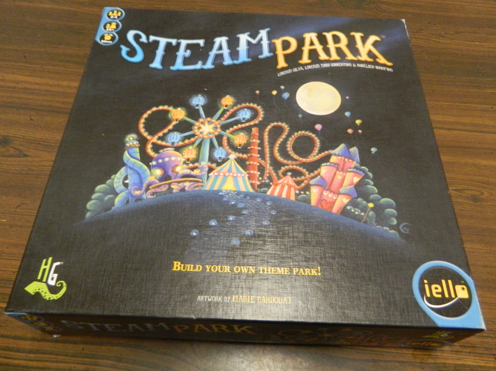 Box for Steam Park