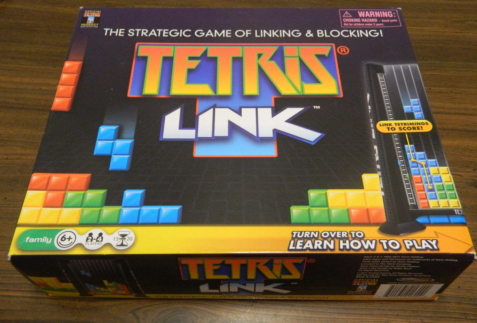 Box for Tetris Link