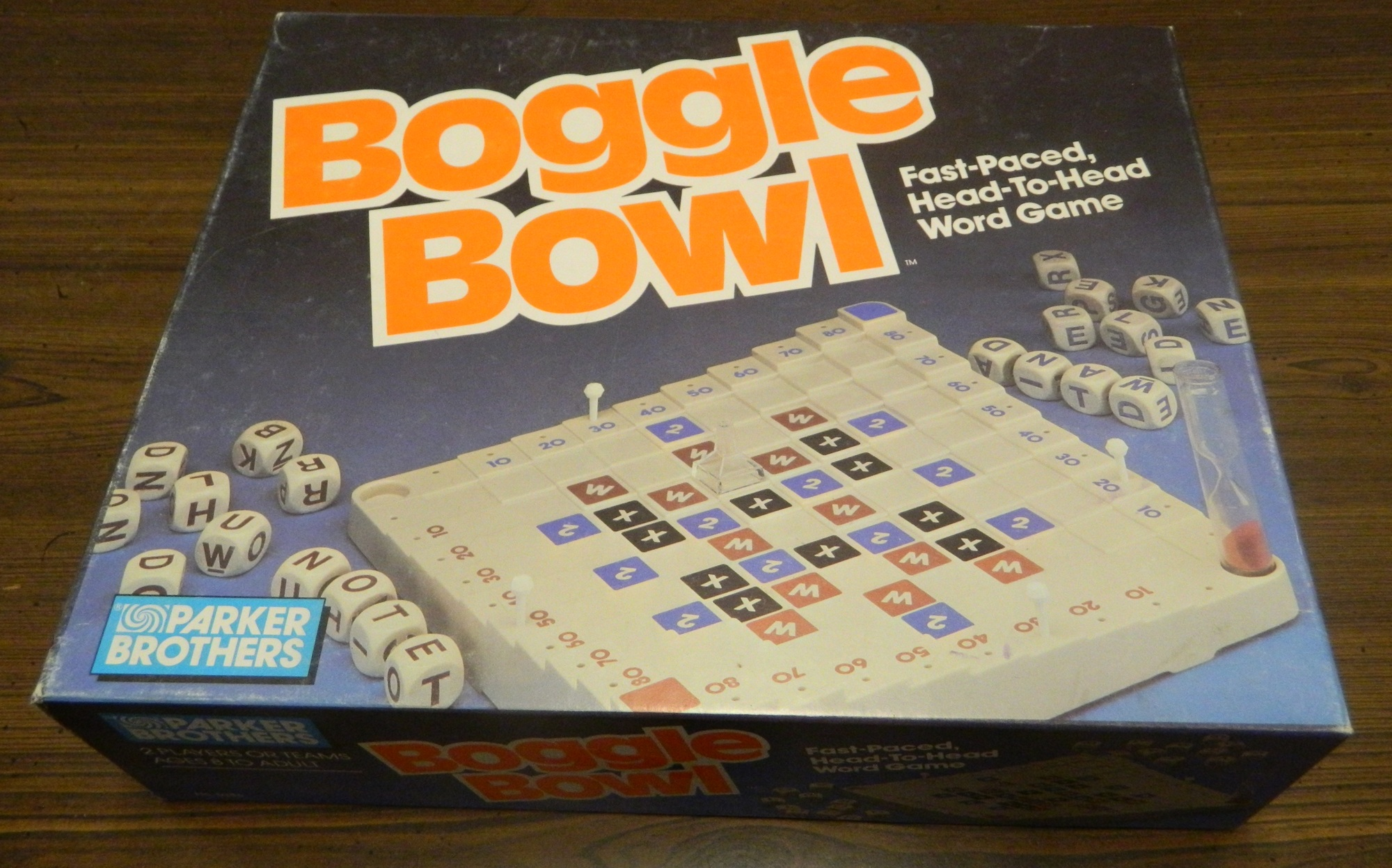 Box for Boggle Bowl
