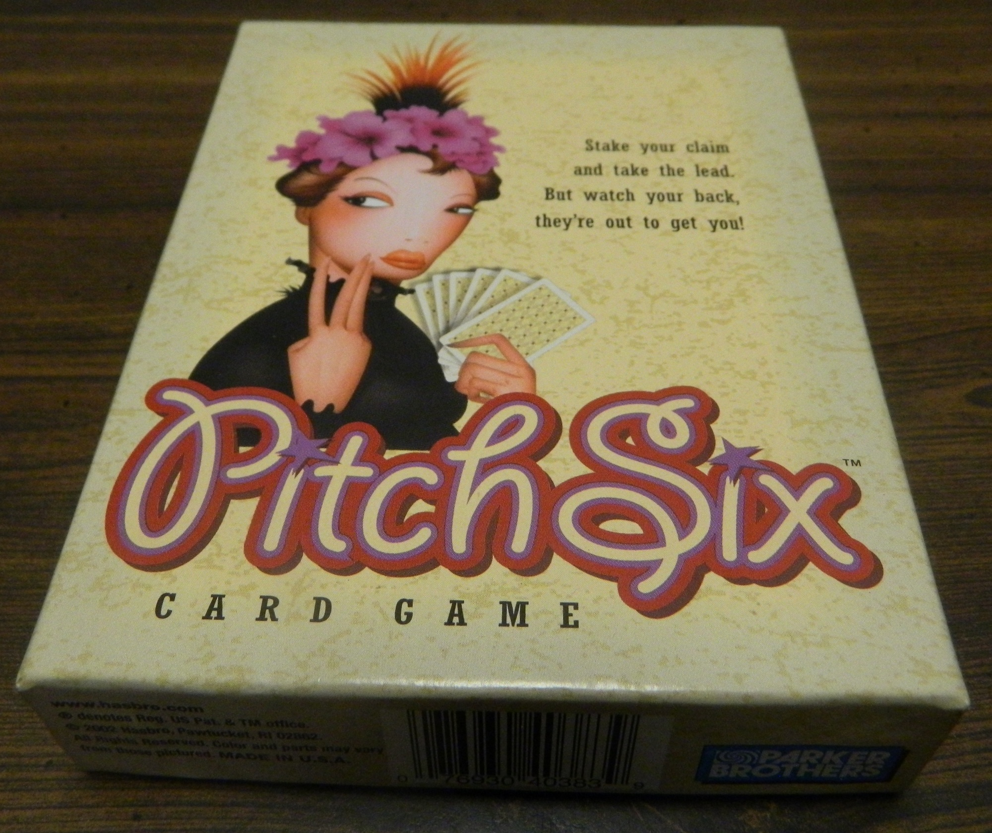 Box for Pitch Six