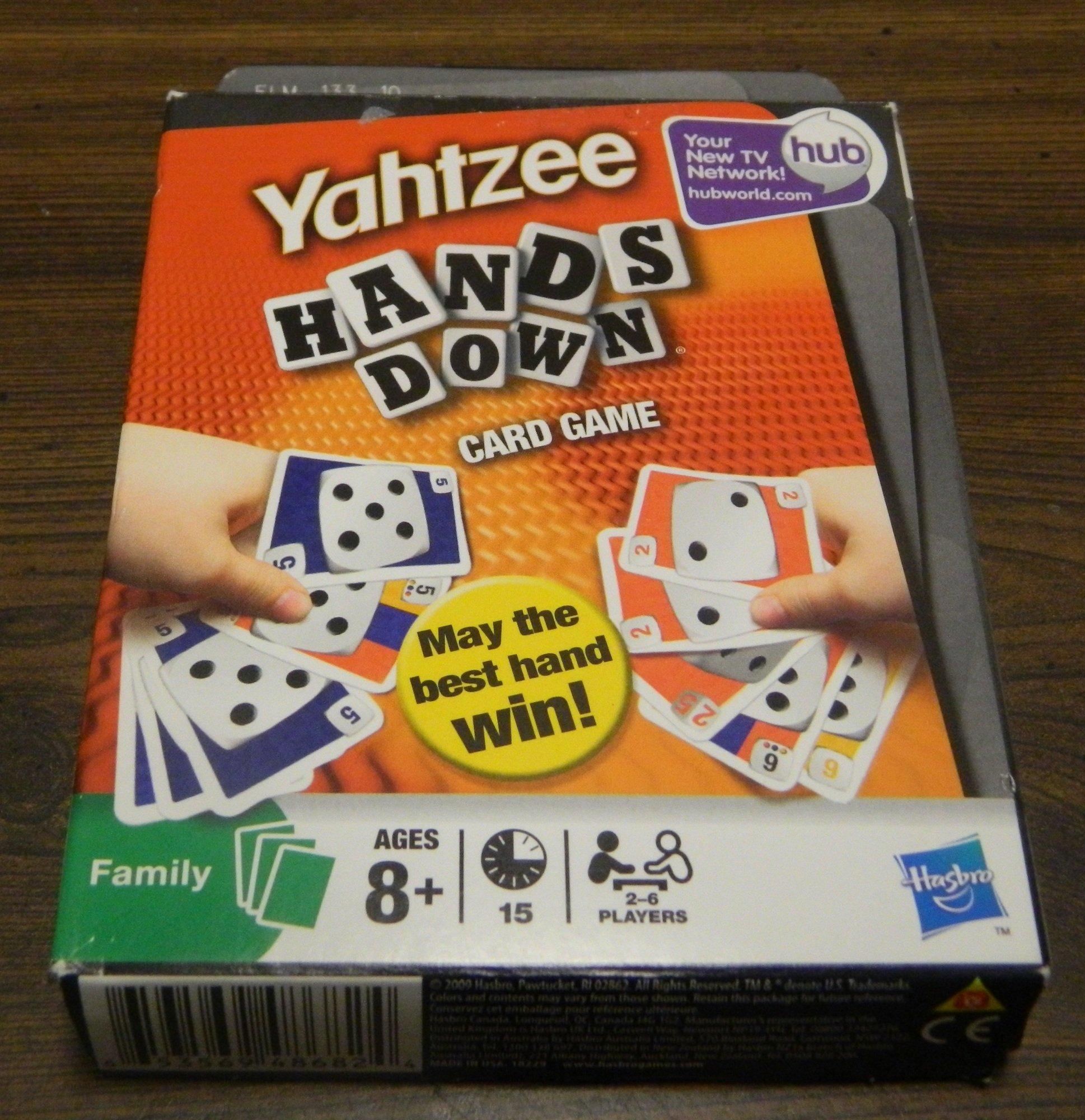 Box for Yahtzee Hands Down
