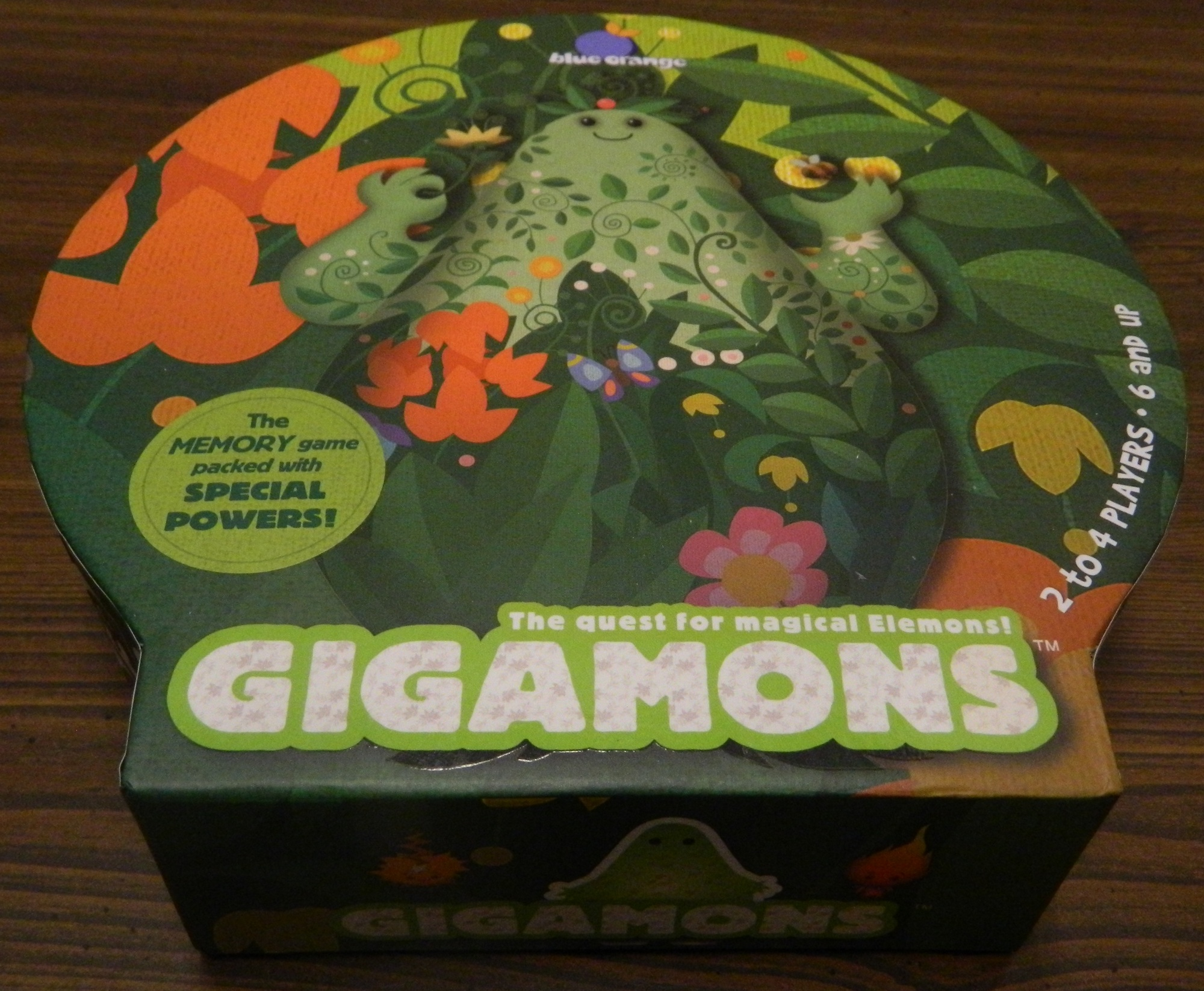 Box for Gigamons