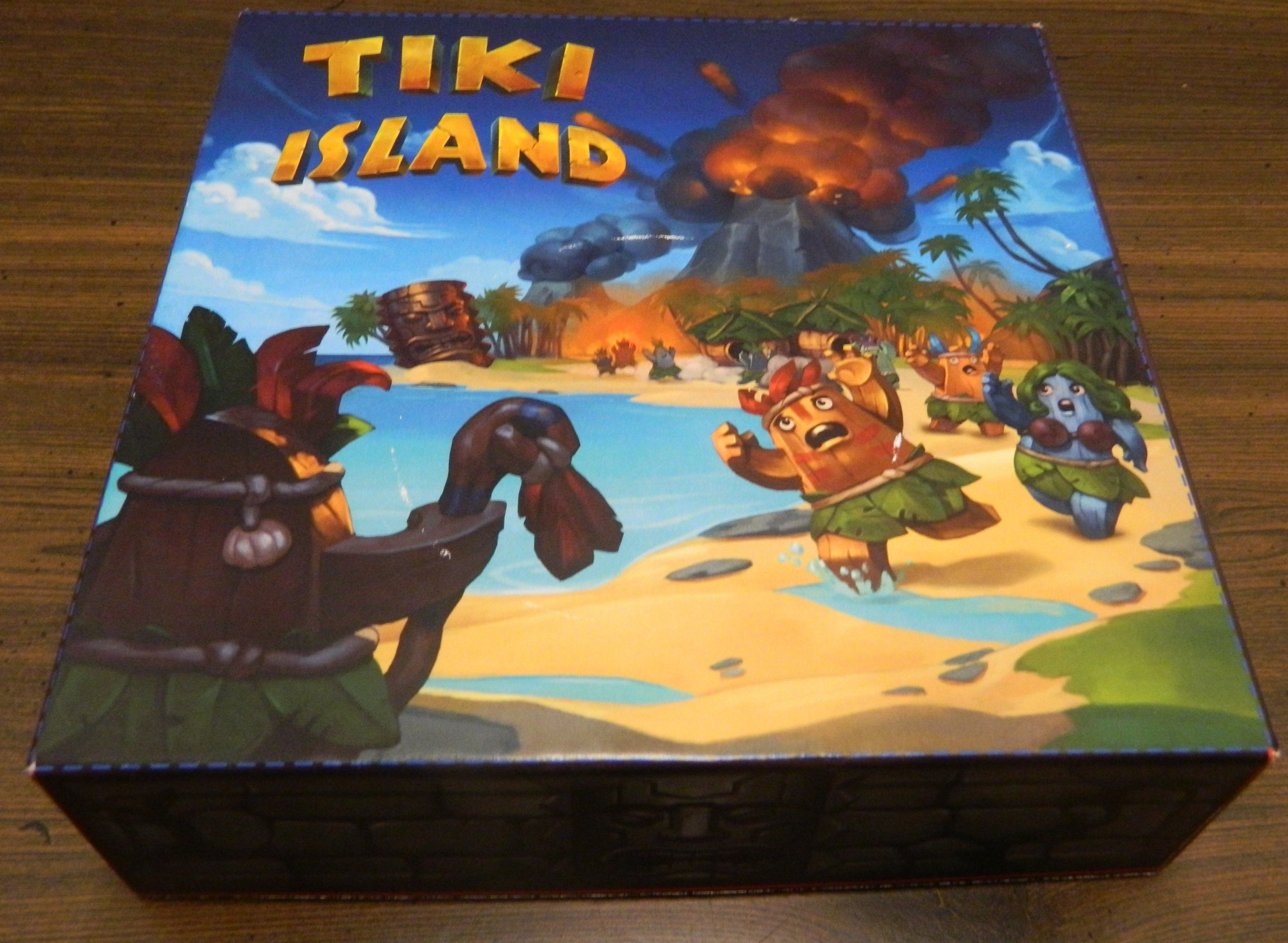Box for Tiki Island