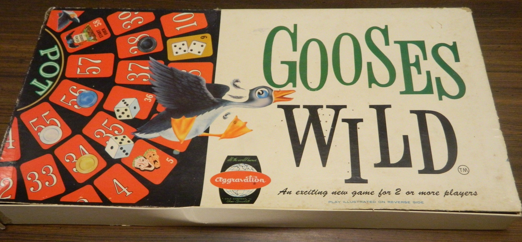 Box for Gooses Wild