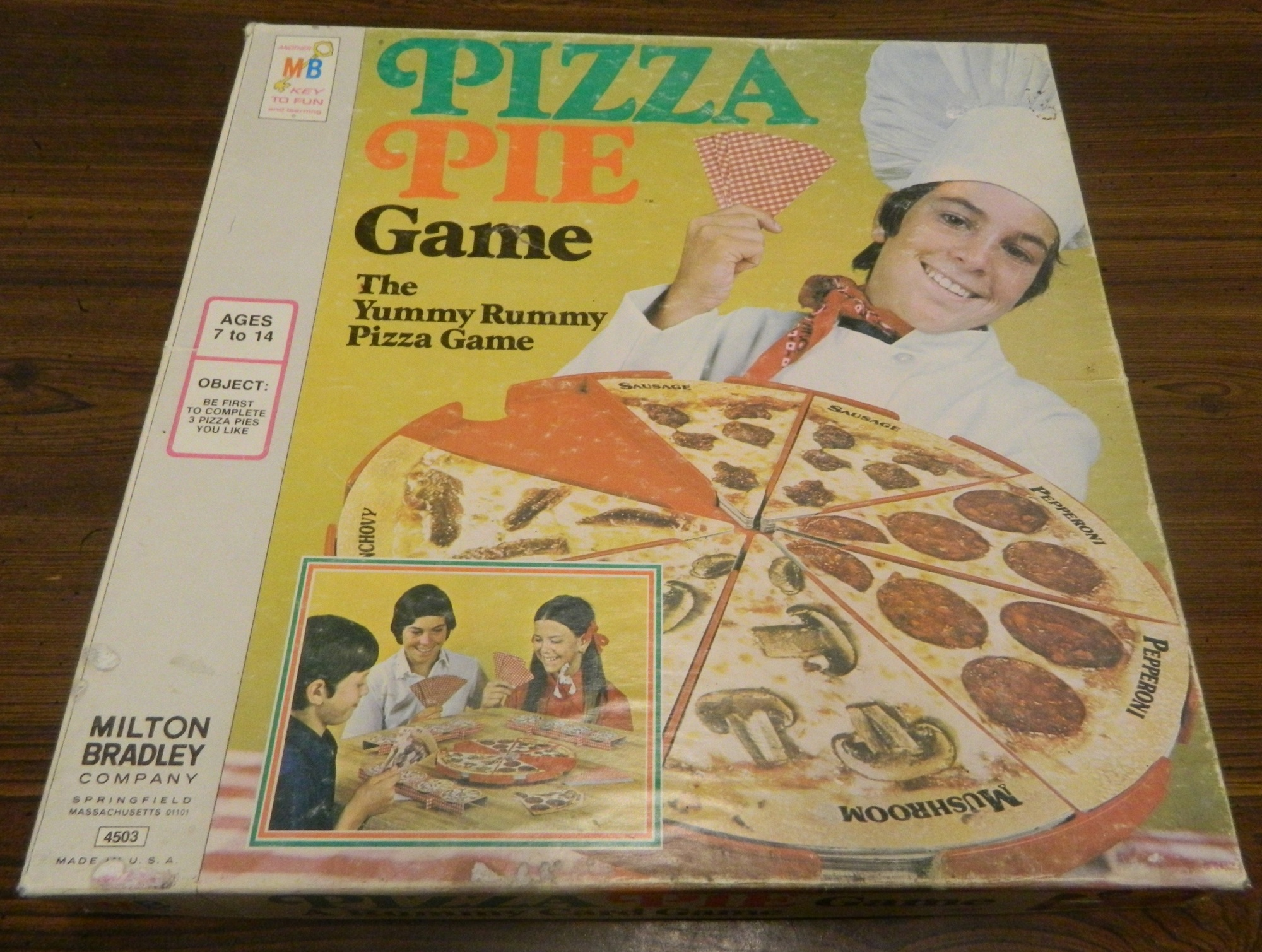 Box Pizza Pie Game