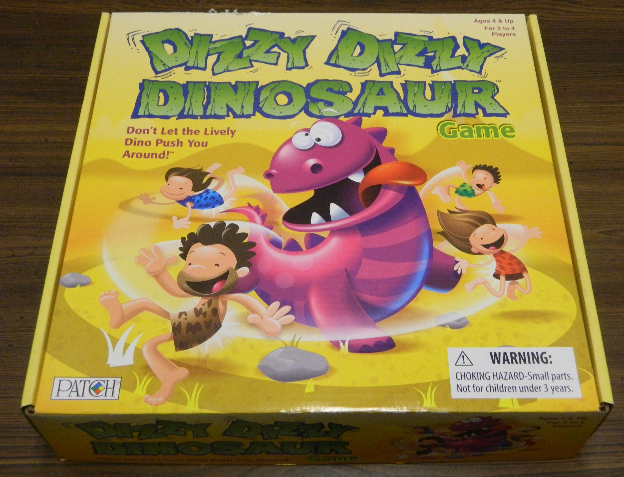 Box for Dizzy Dizzy Dinosaur