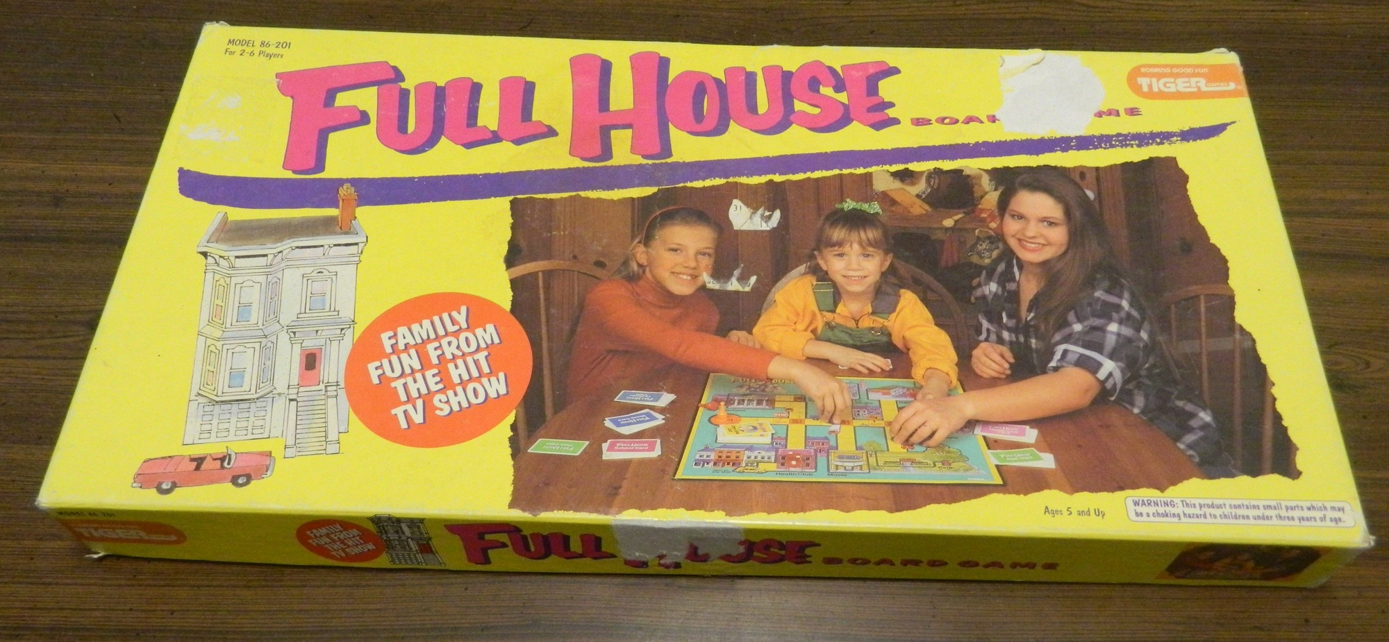Box for Full House Board Game