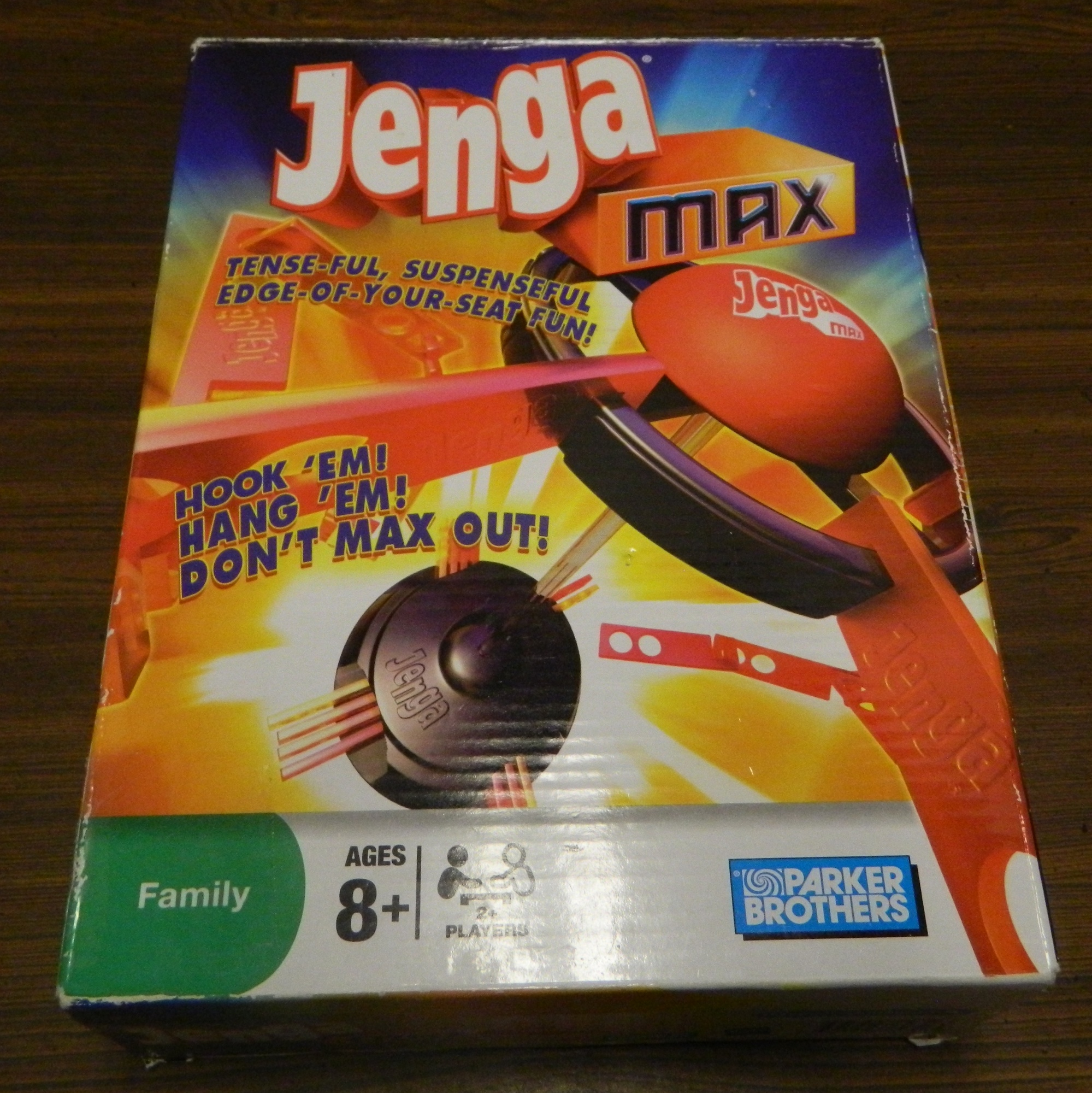 Box for Jenga Max