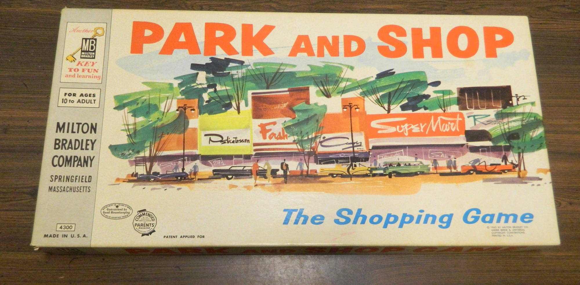 Box for Park and Shop