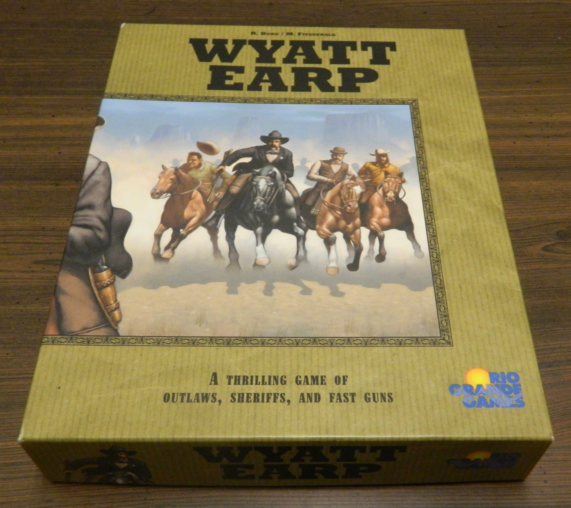 Box for Wyatt Earp