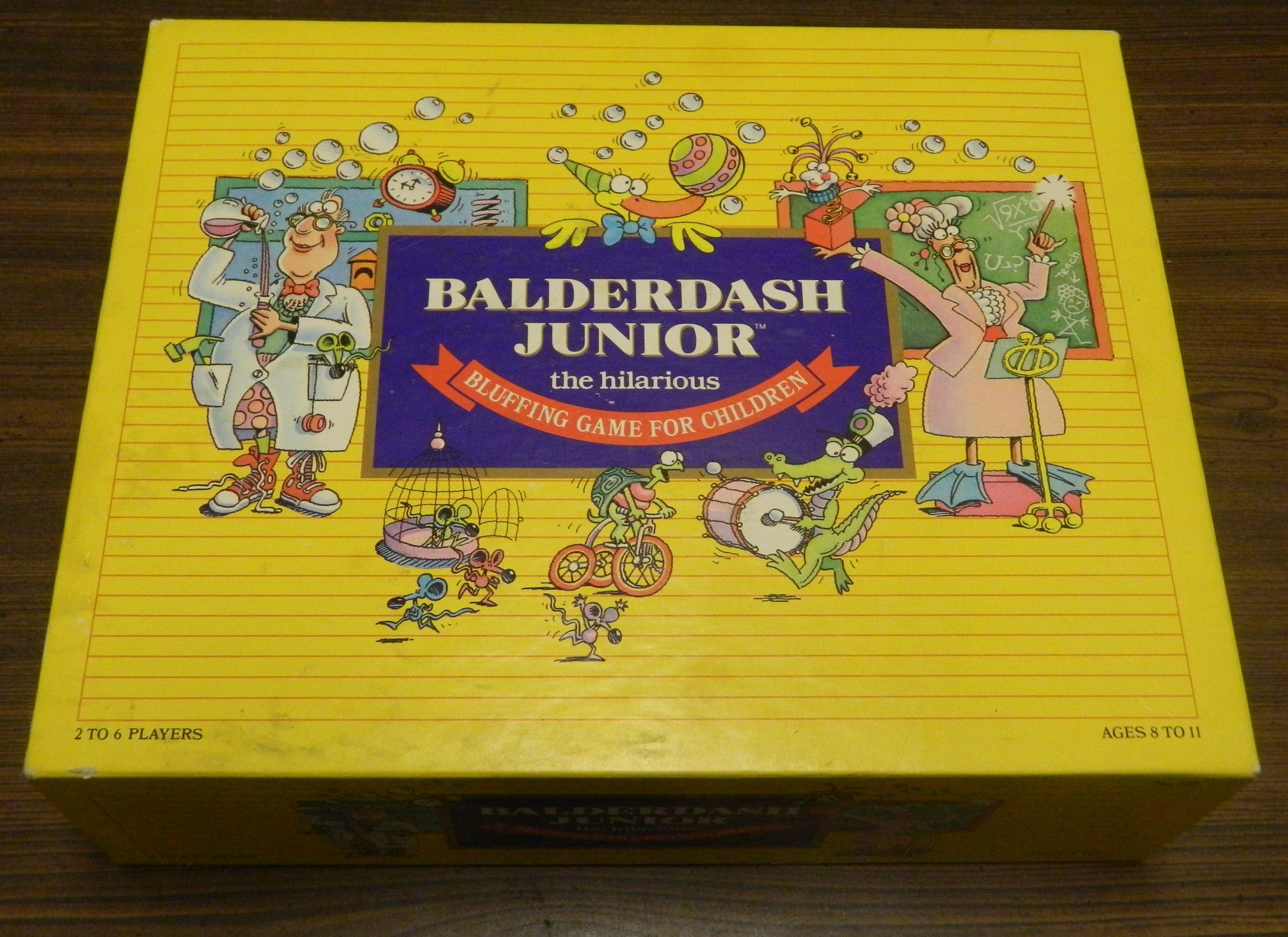 Box in Balderdash Junior