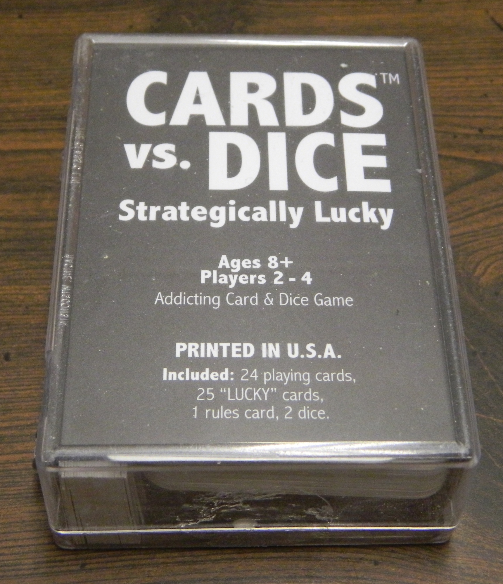Box for Cards Vs Dice