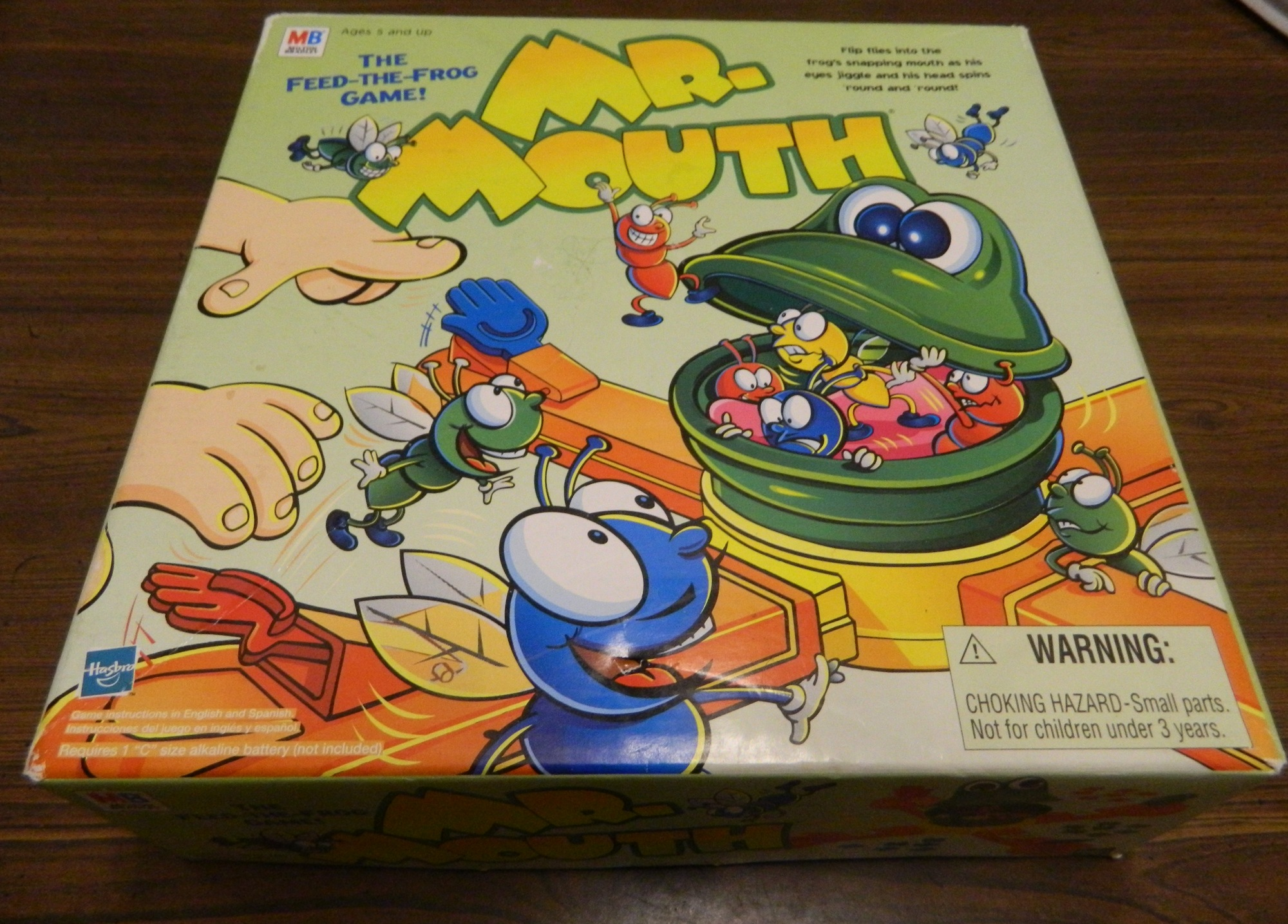 Box for Mr. Mouth