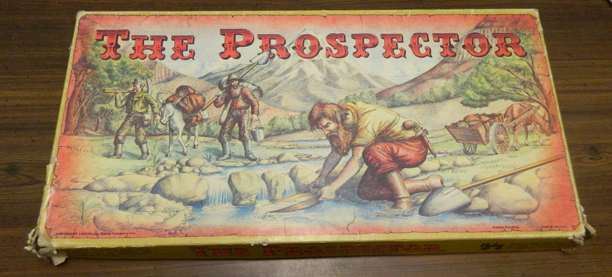 Box for Prospector Game