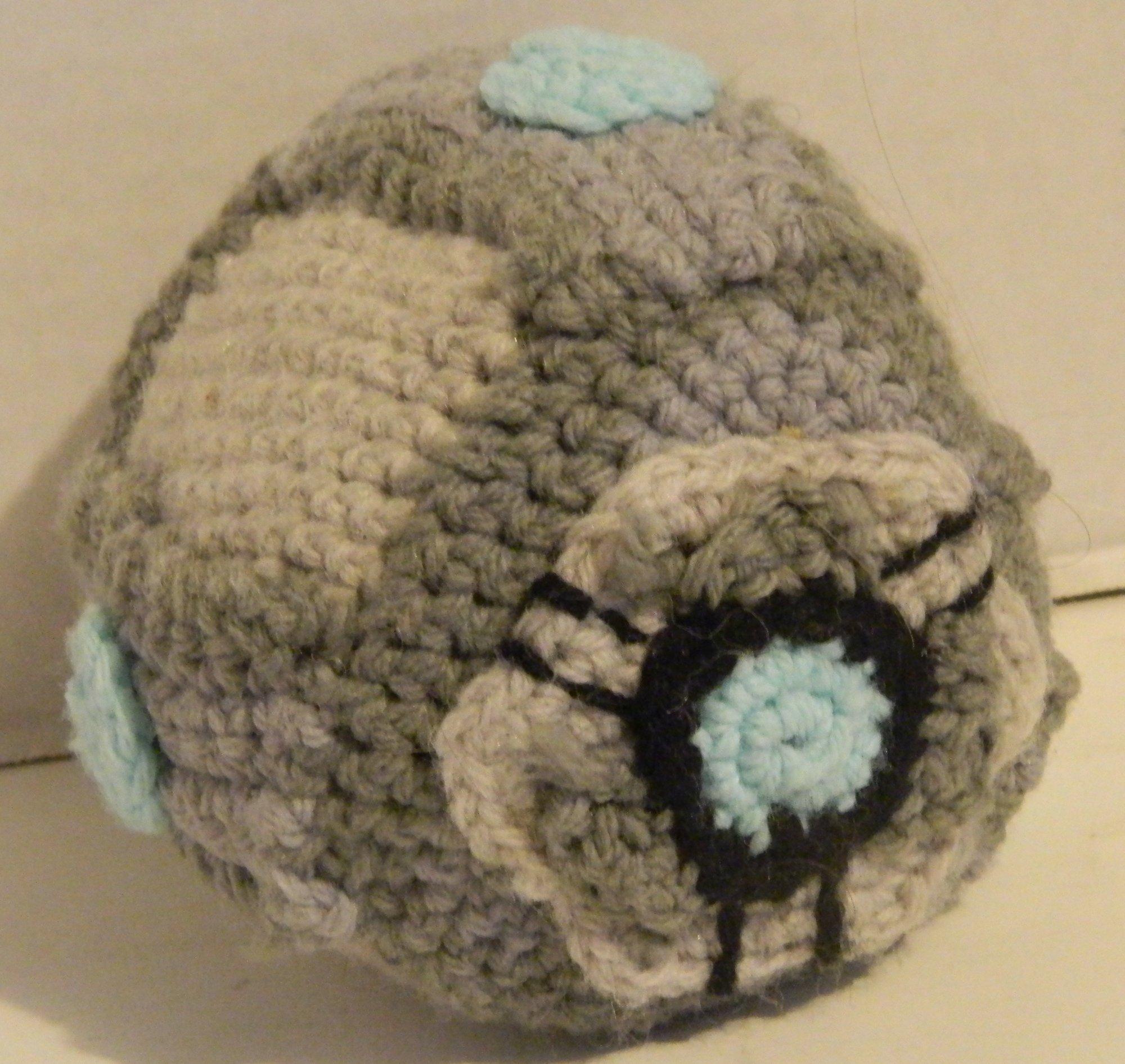 Crochet Rocket League Ball