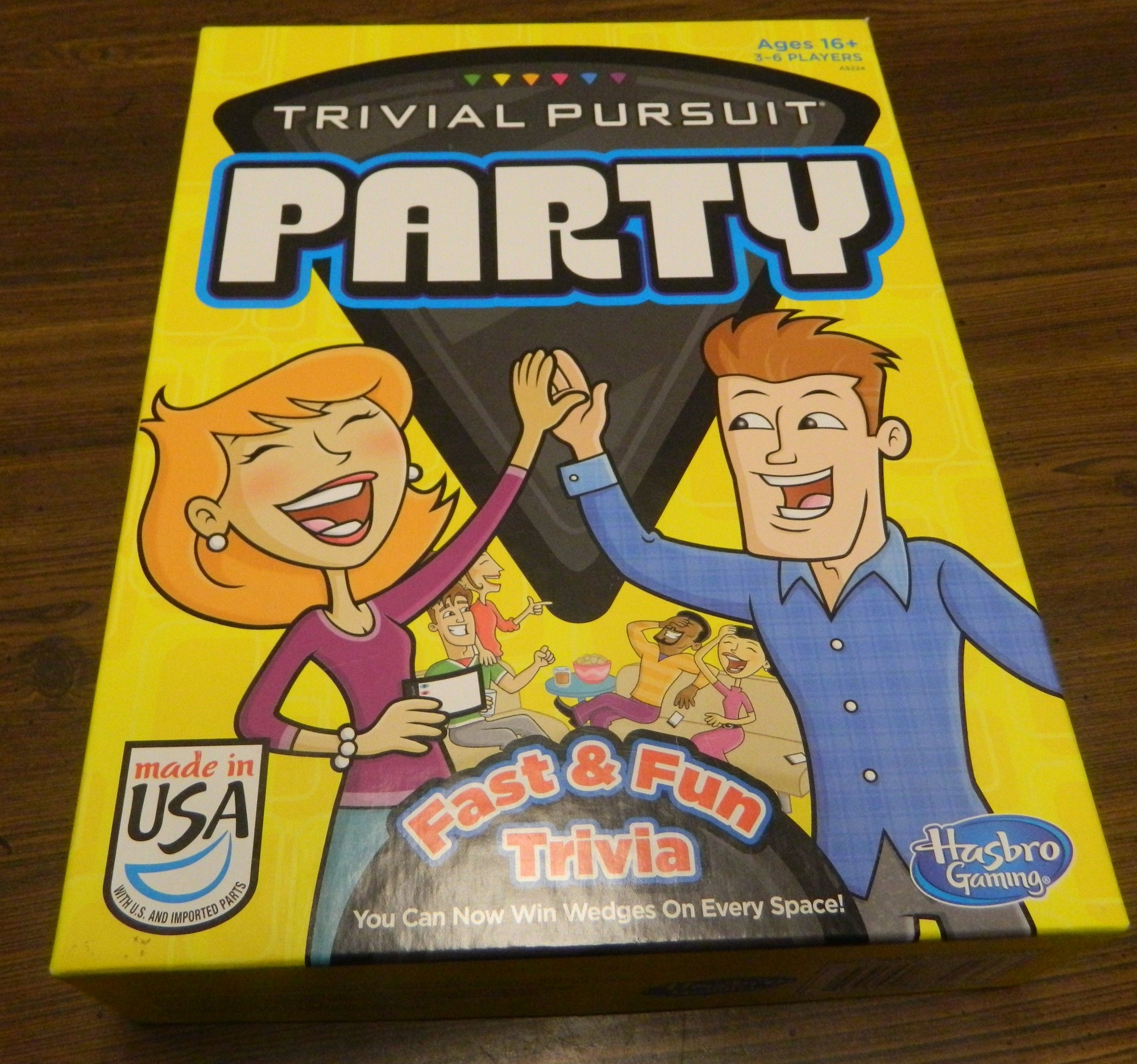 Trivial Pursuit Party Box