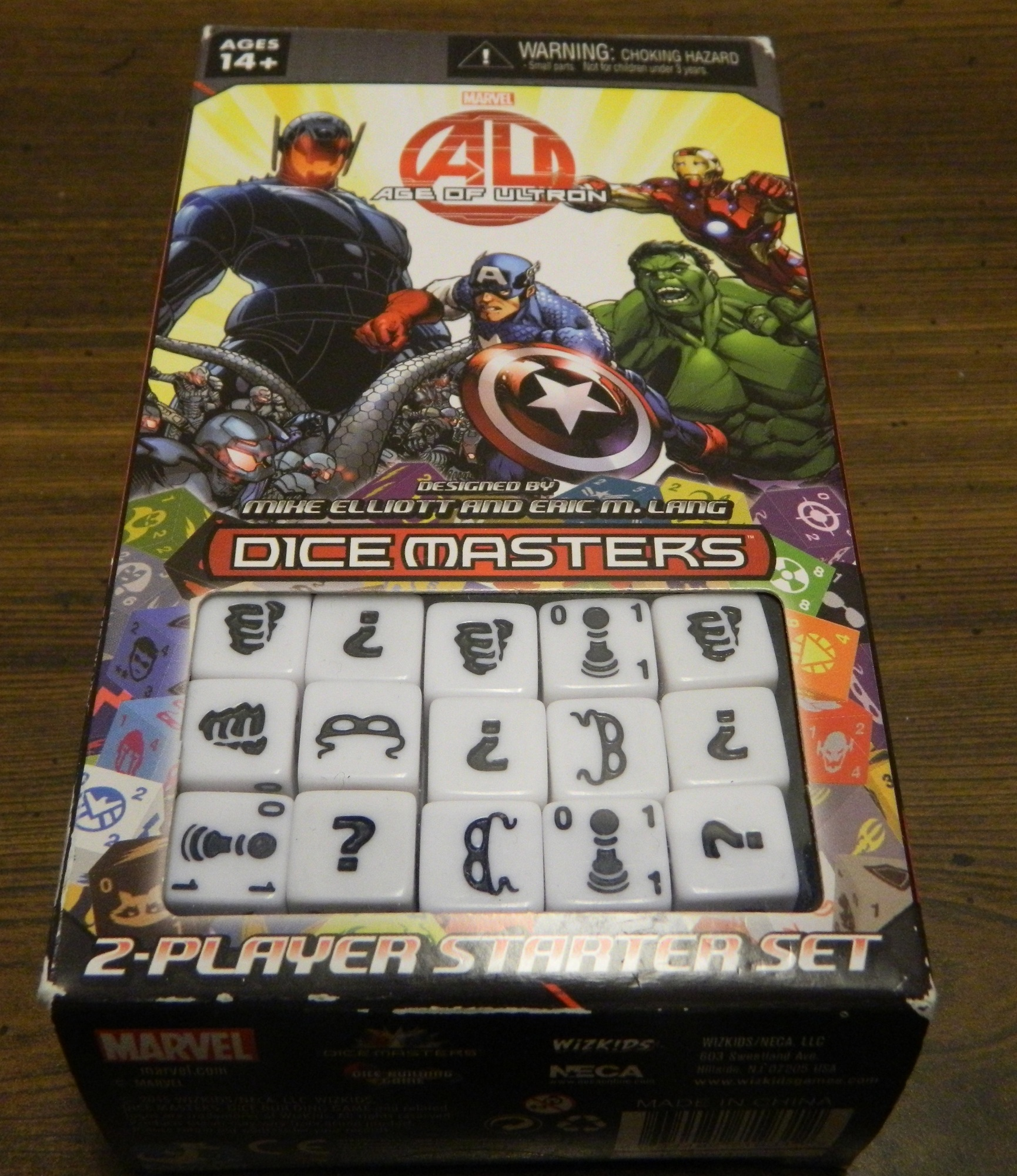 Box for Dice Masters Age of Ultron