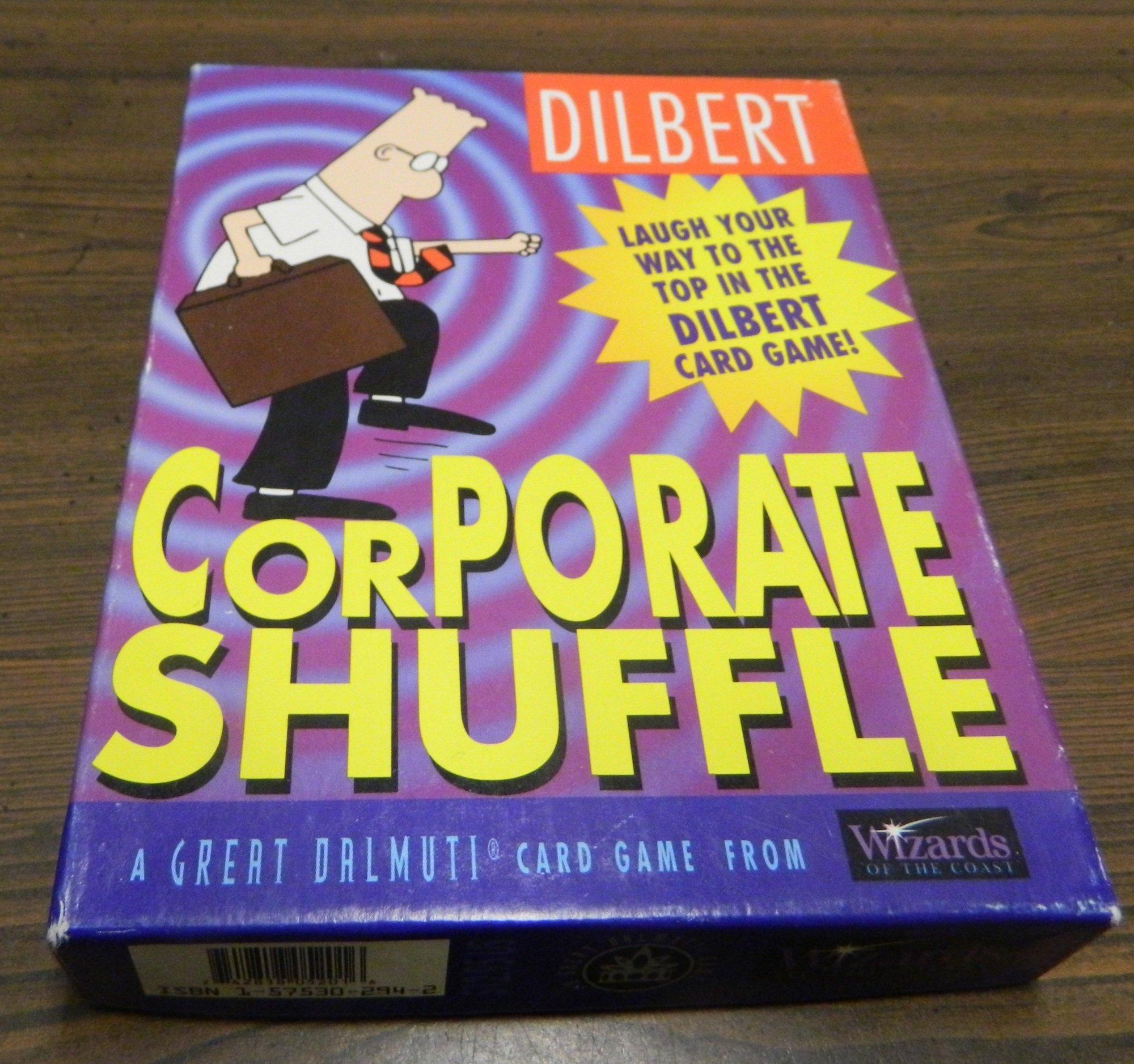 Box for Dilbert Corporate Shuffle