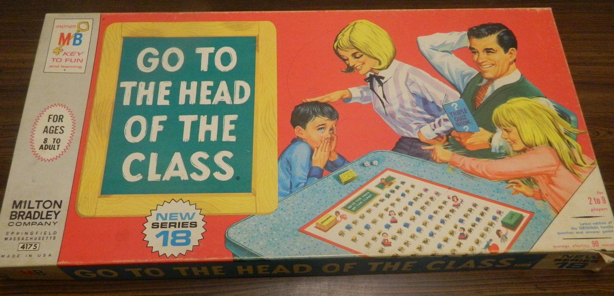 Go to the Head of the Class Box