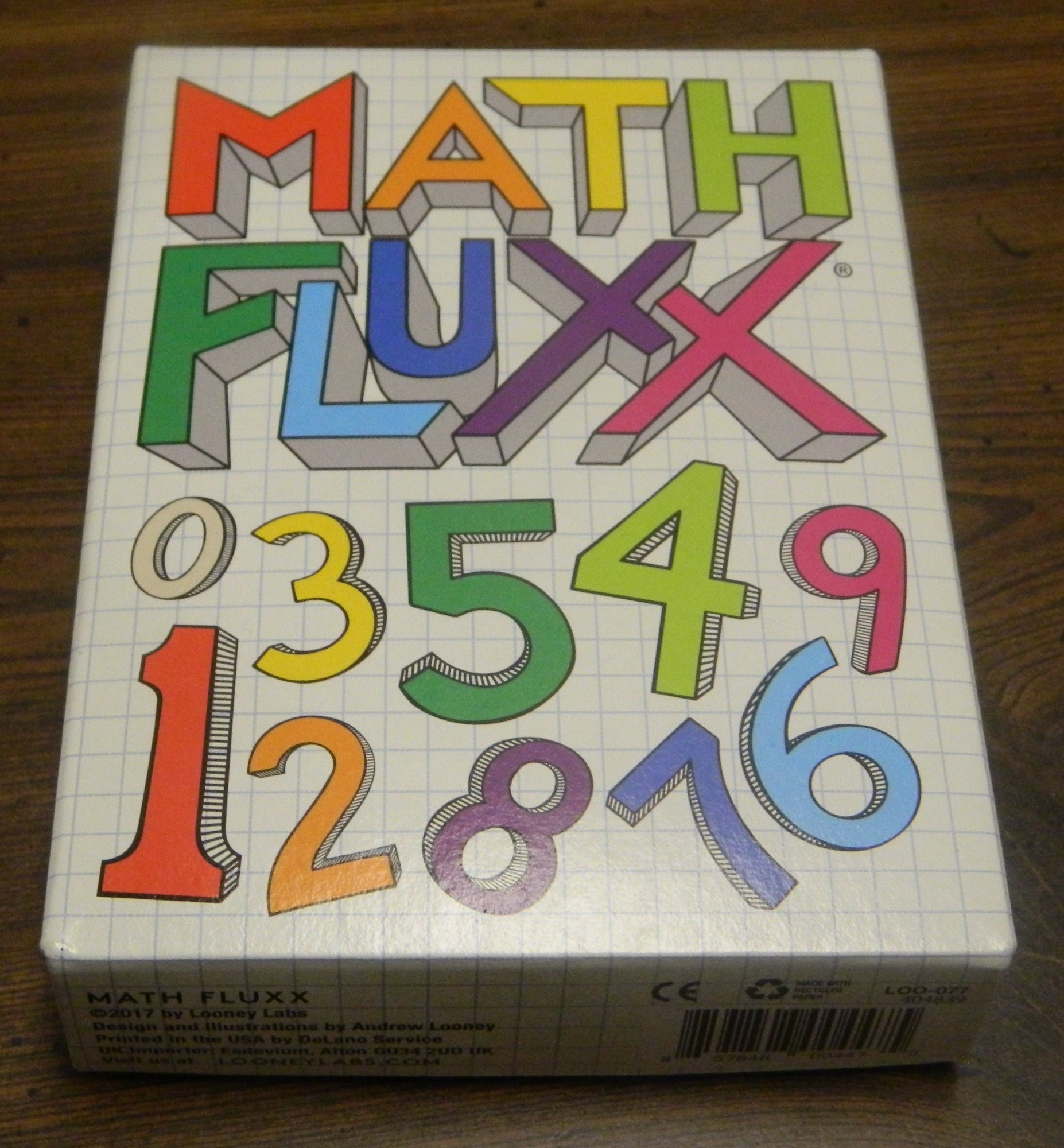 Box for Math Fluxx