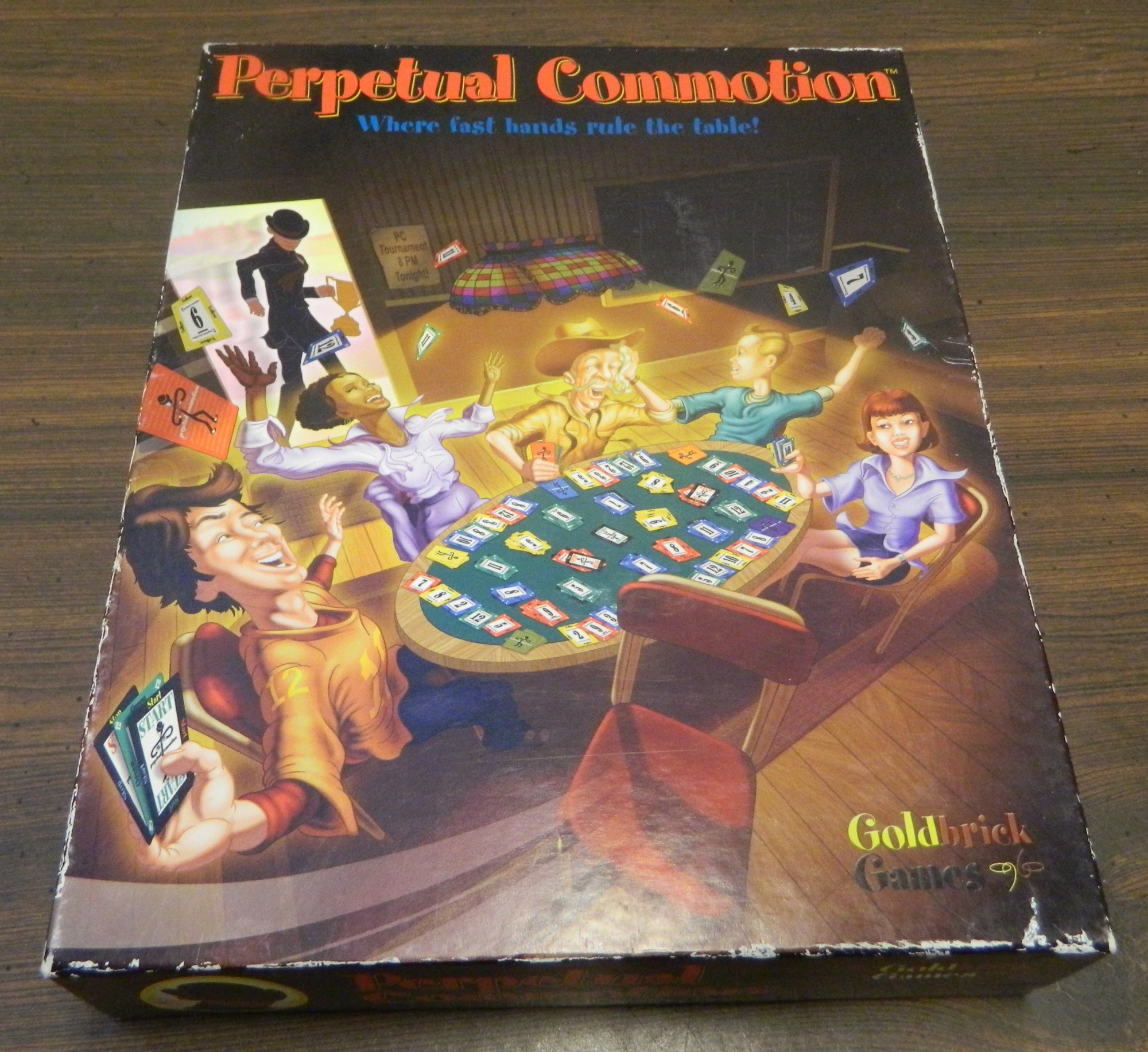 Box for Perpetual Commotion