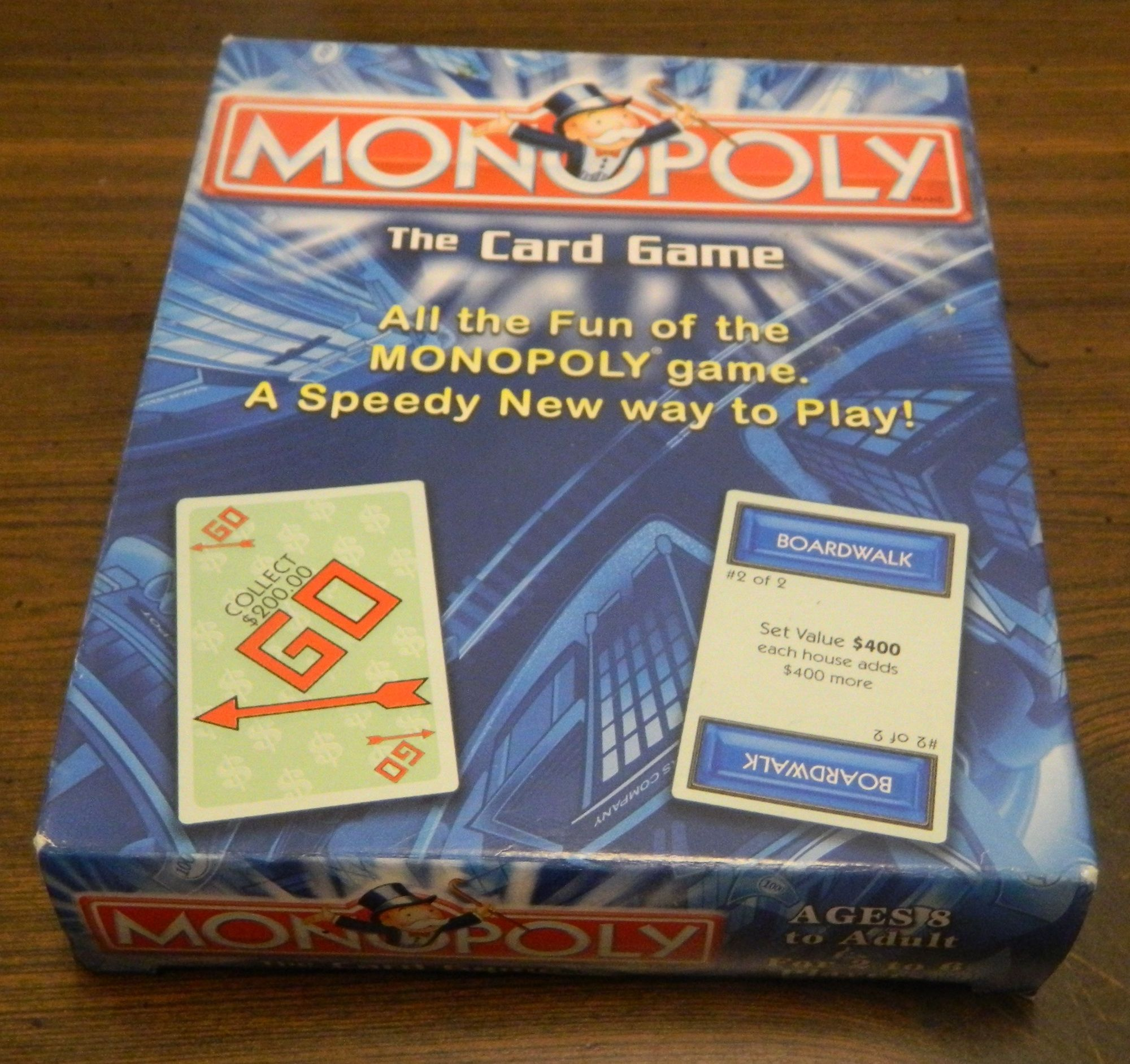 Box for Monopoly Card Game