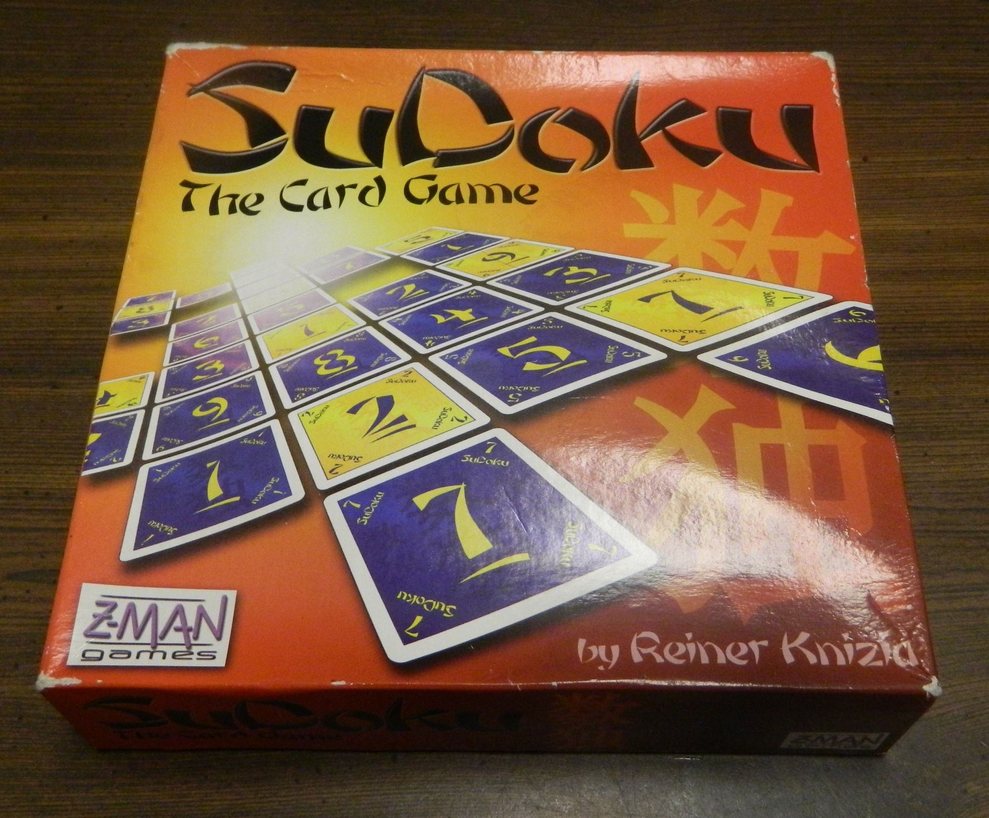 Box for Sudoku Card Game