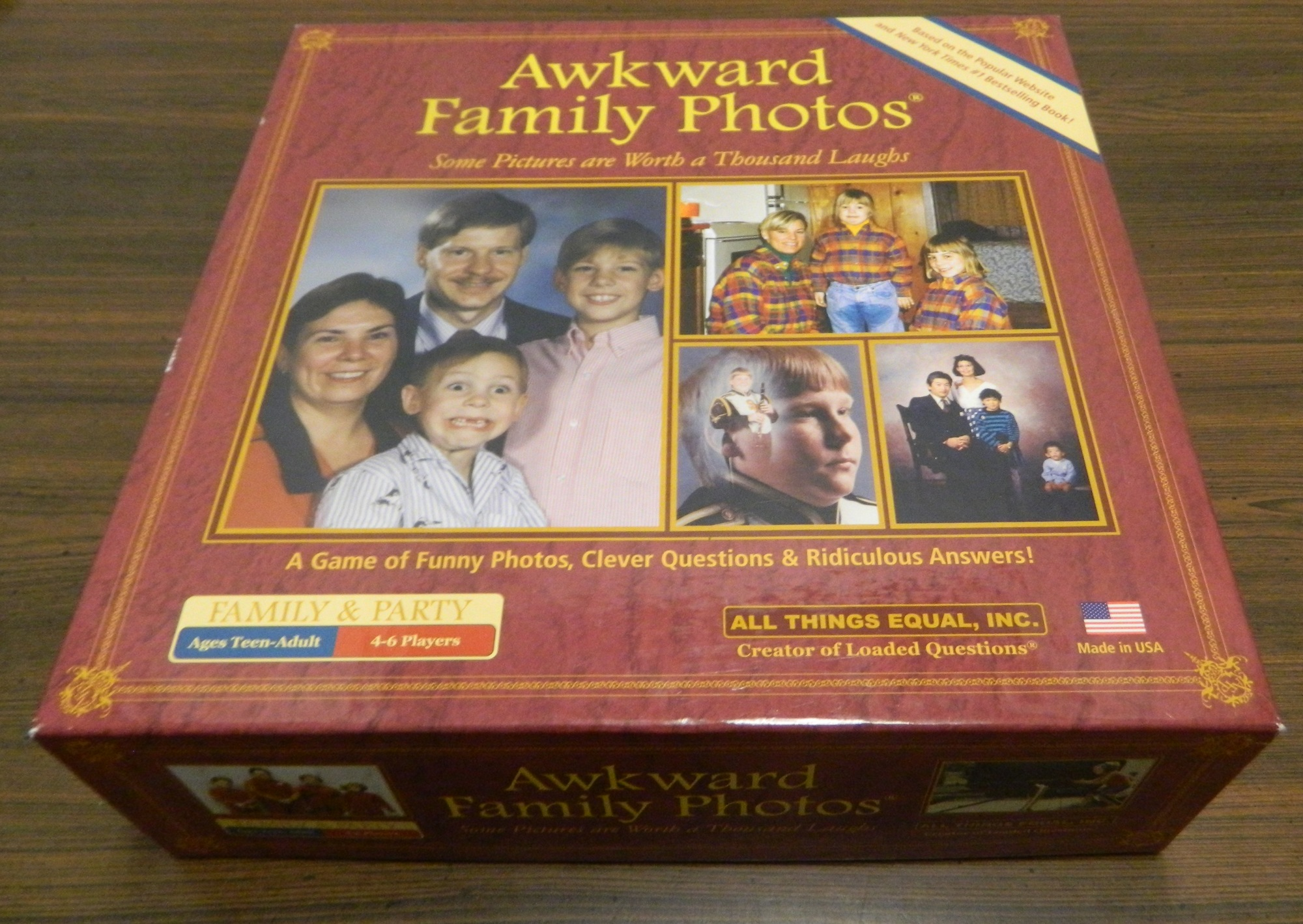 Box for Awkward Family Photos