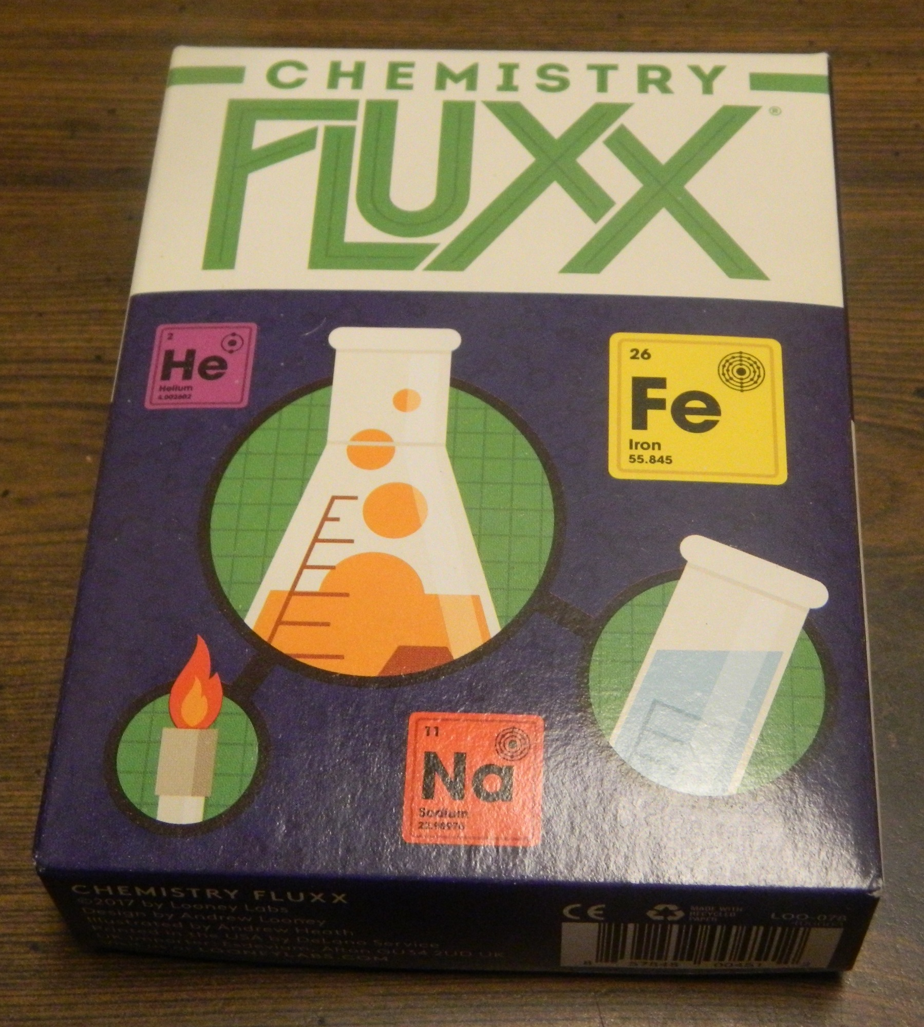 Box for Chemistry Fluxx