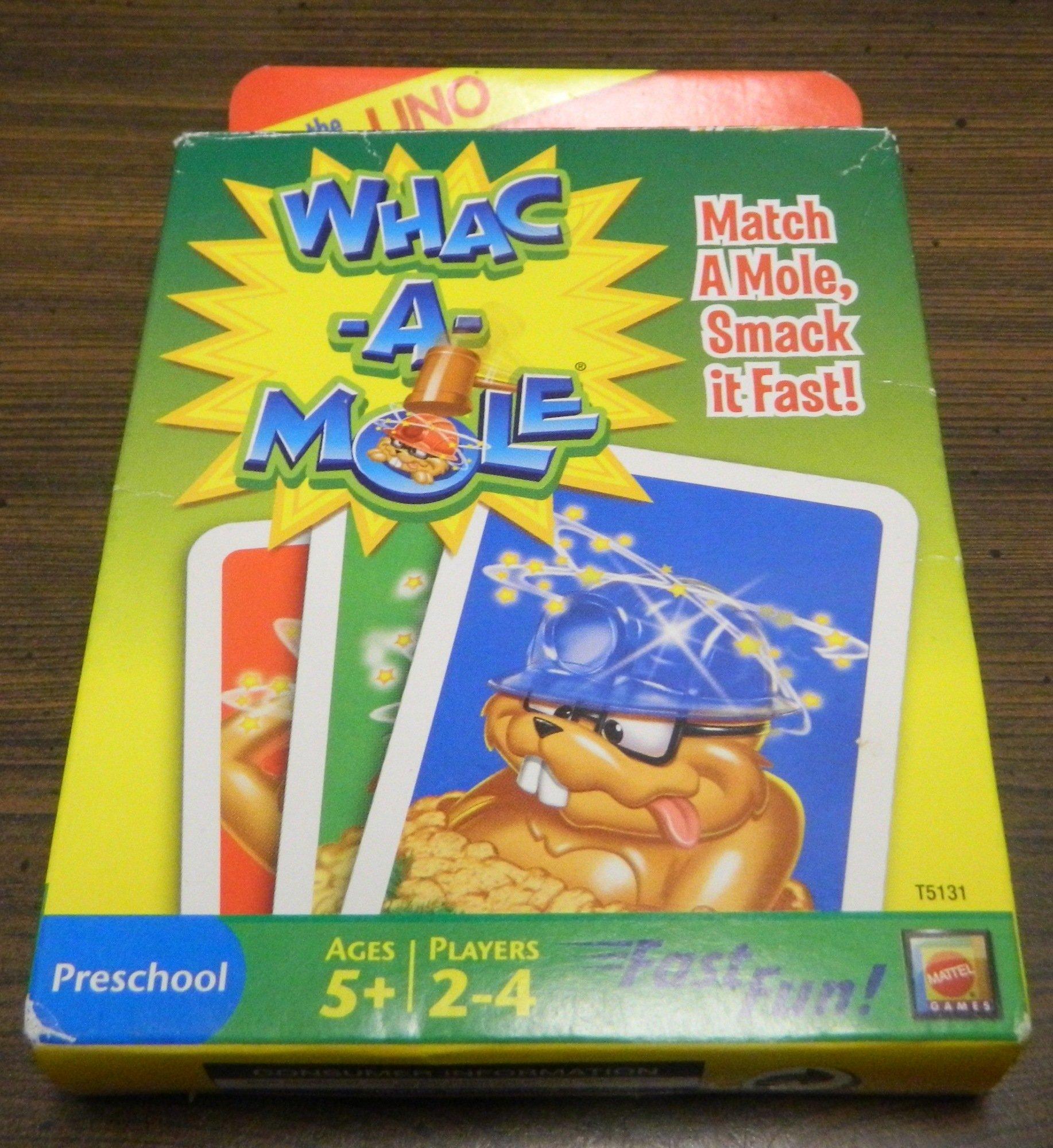 Box for Whac-A-Mole