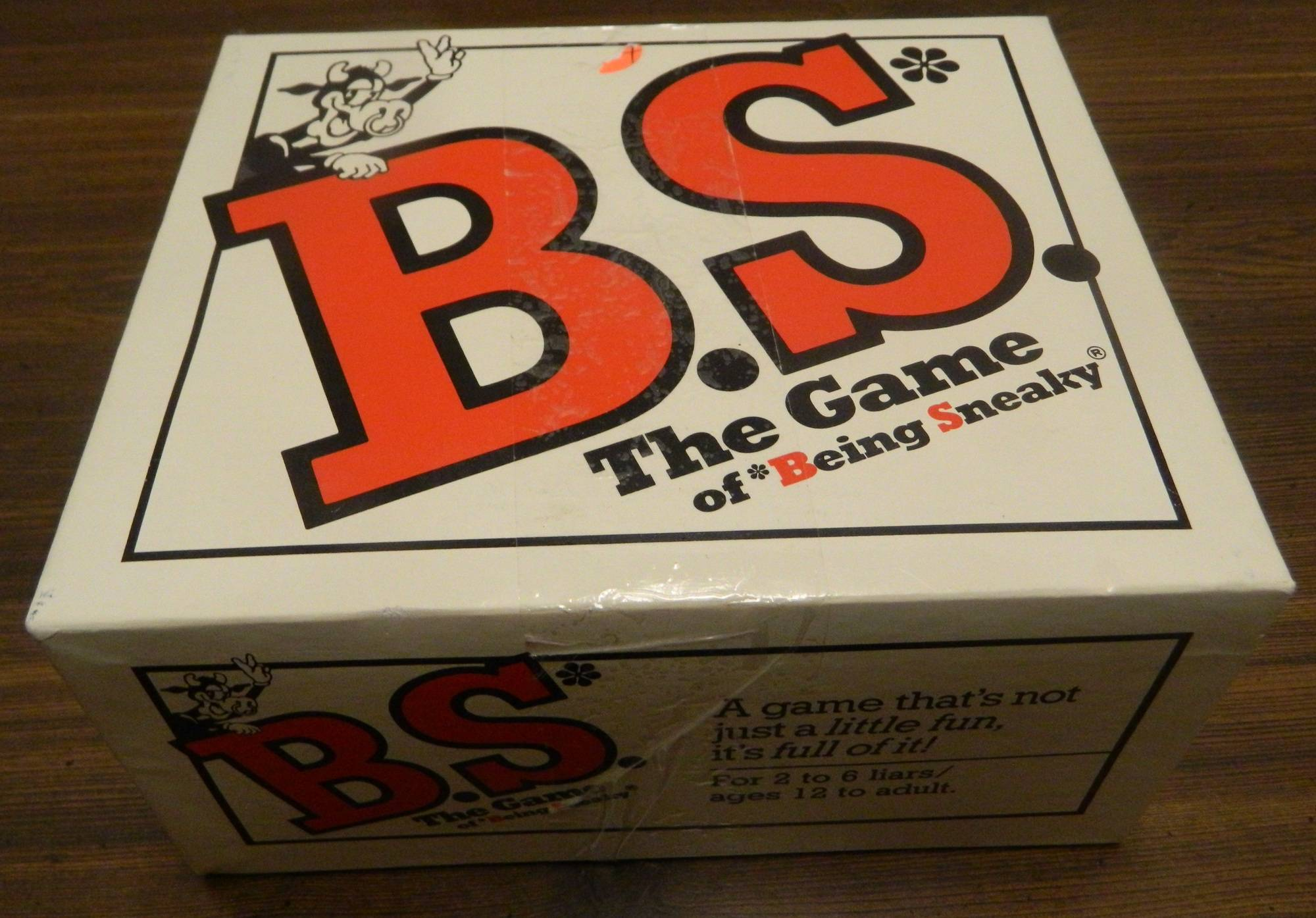 Box for B.S. The Game