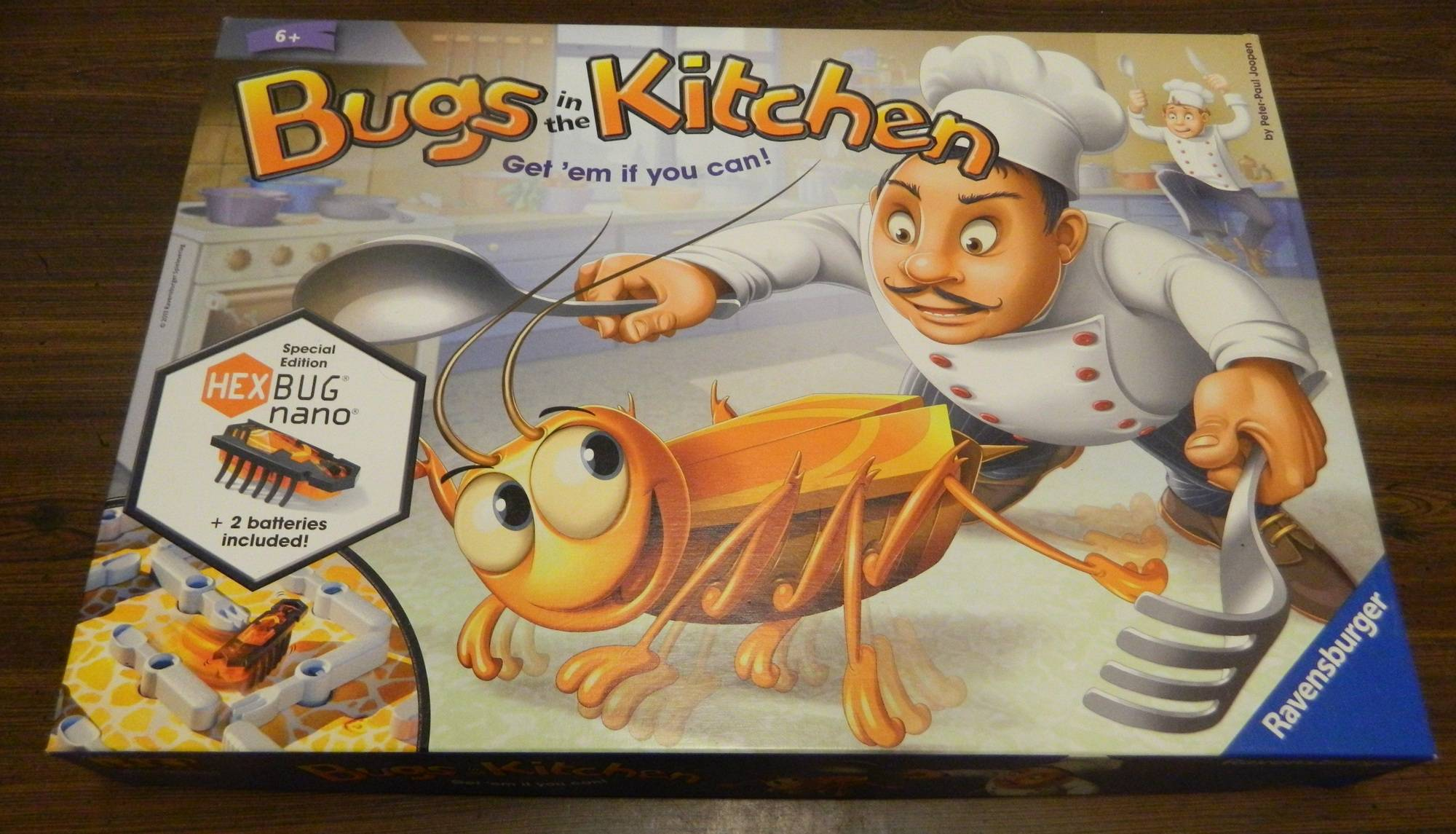 Box in Bugs in the Kitchen