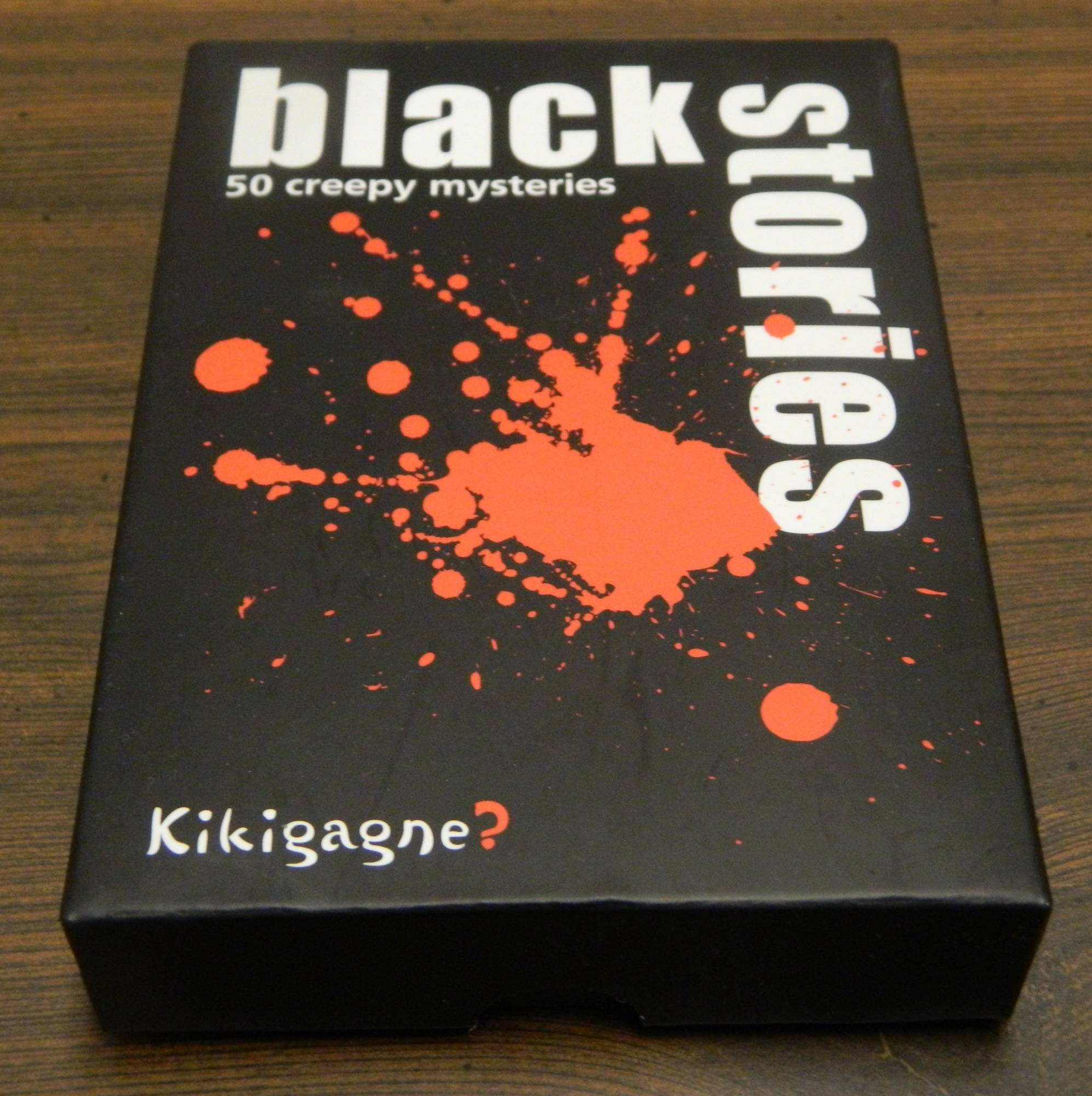 Box for Black Stories