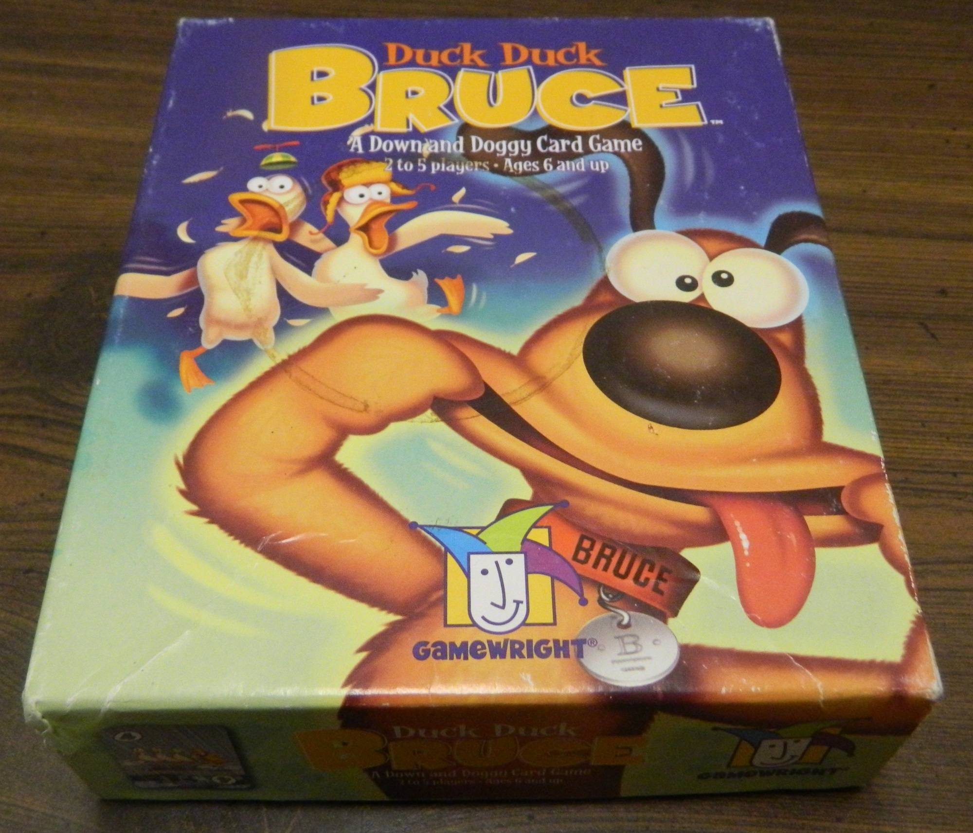 Box for Duck Duck Bruce