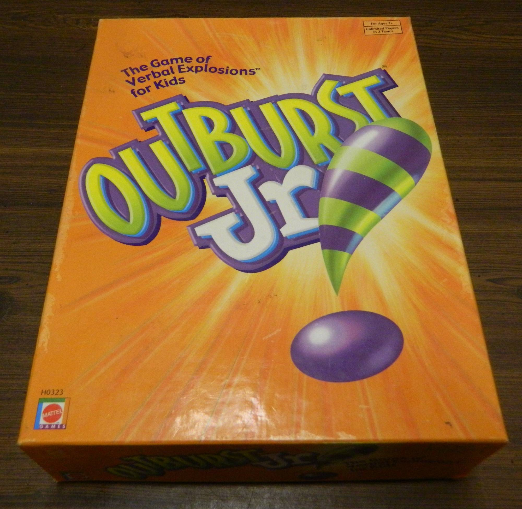 Box for Outburst Junior