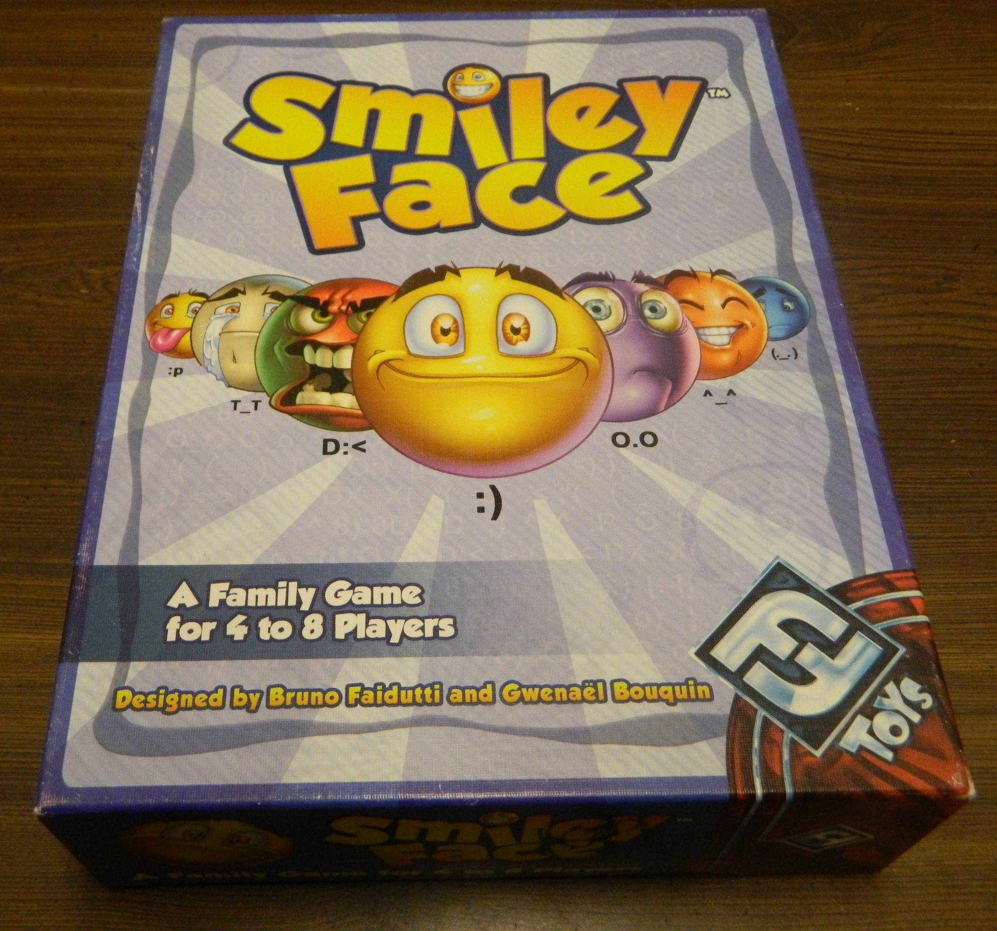 Box for Smiley Face