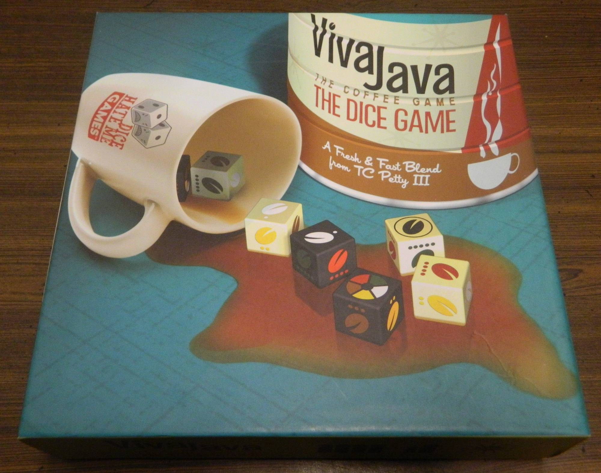 Box for Viva Java Dice Game