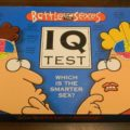 Battle of the Sexes IQ Test Board Game Box