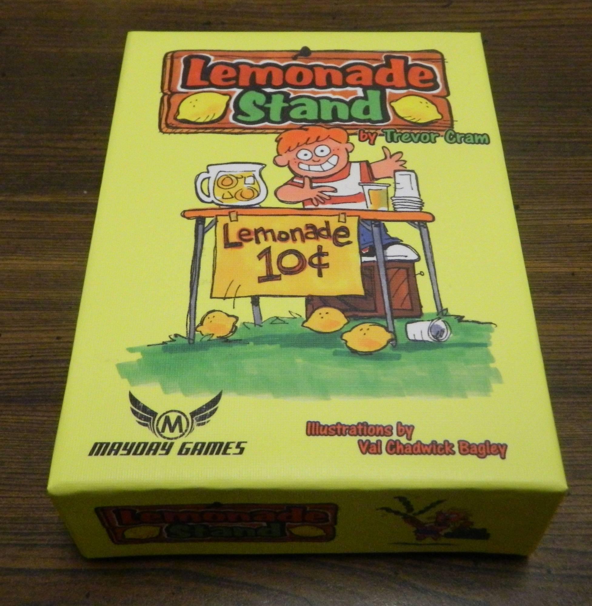 Box for Lemonade Stand