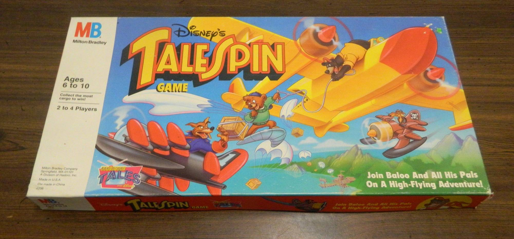 Box for TaleSpin