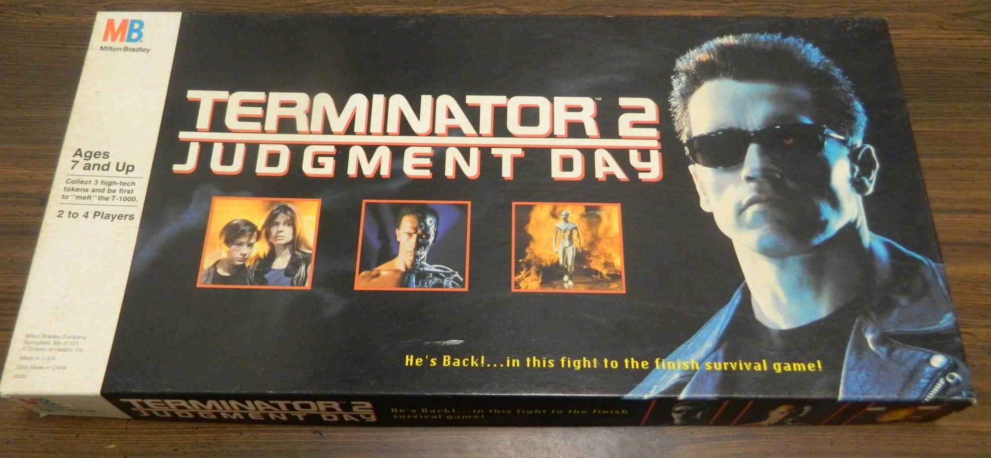 Terminator 2 Judgment Day Box