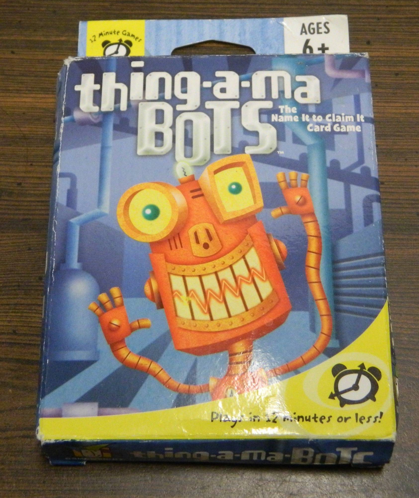 Box for Thing-A-Ma-Bots
