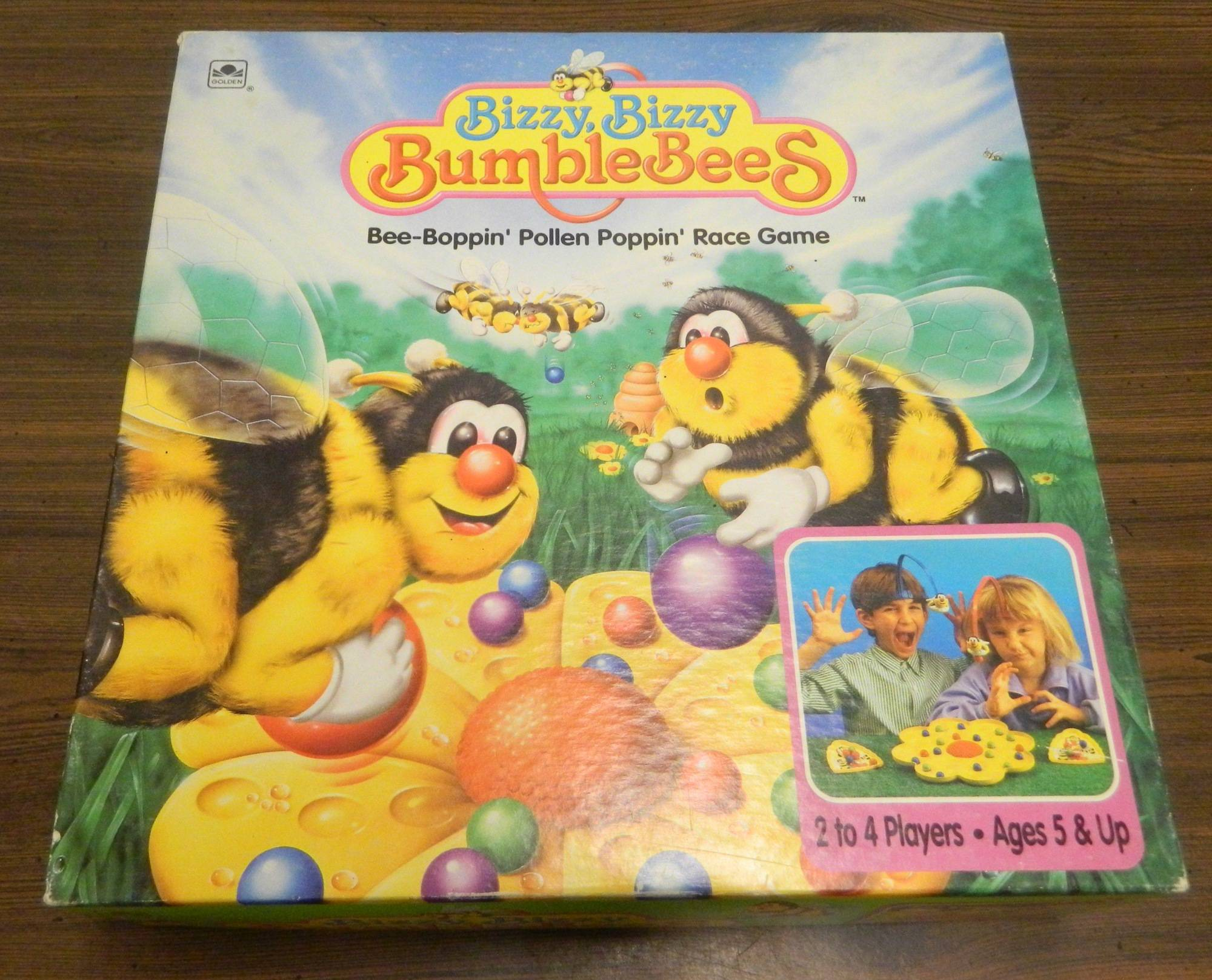 Box for Bizzy, Bizzy Bumblebees