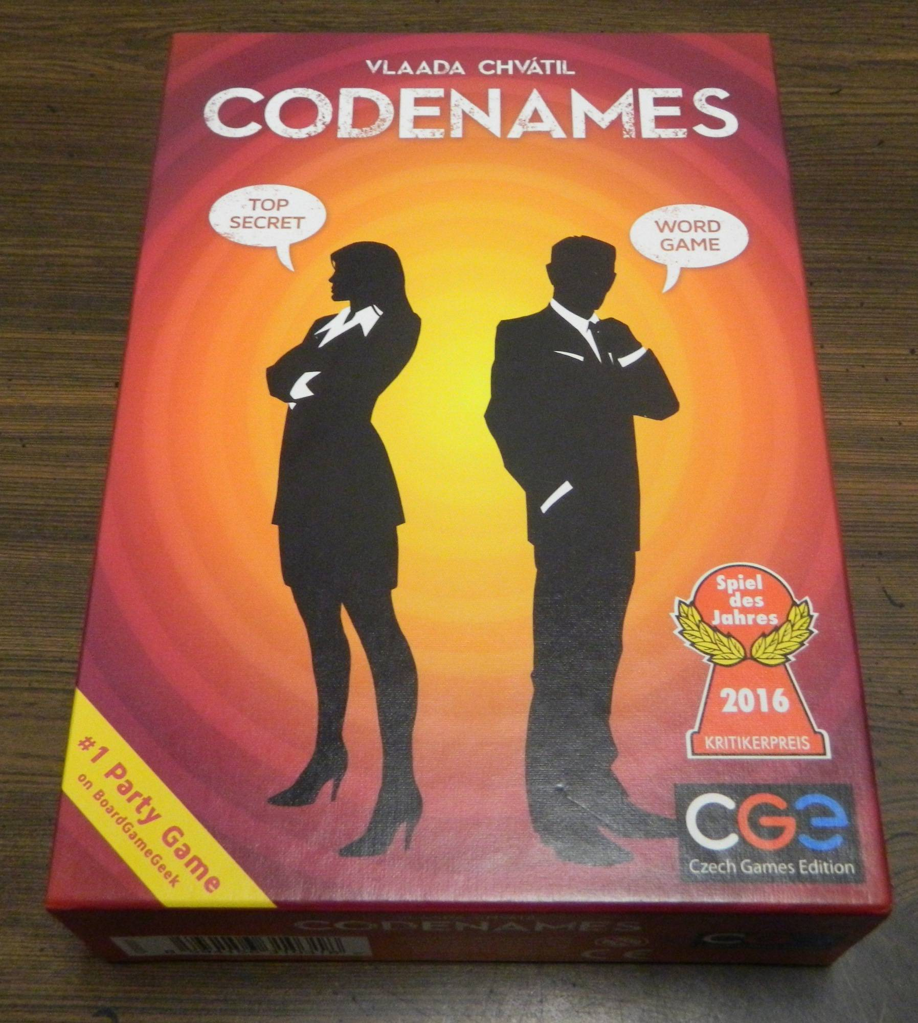 Box for Codenames