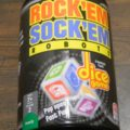 Box for Rock'Em Sock'Em Robots Dice Game