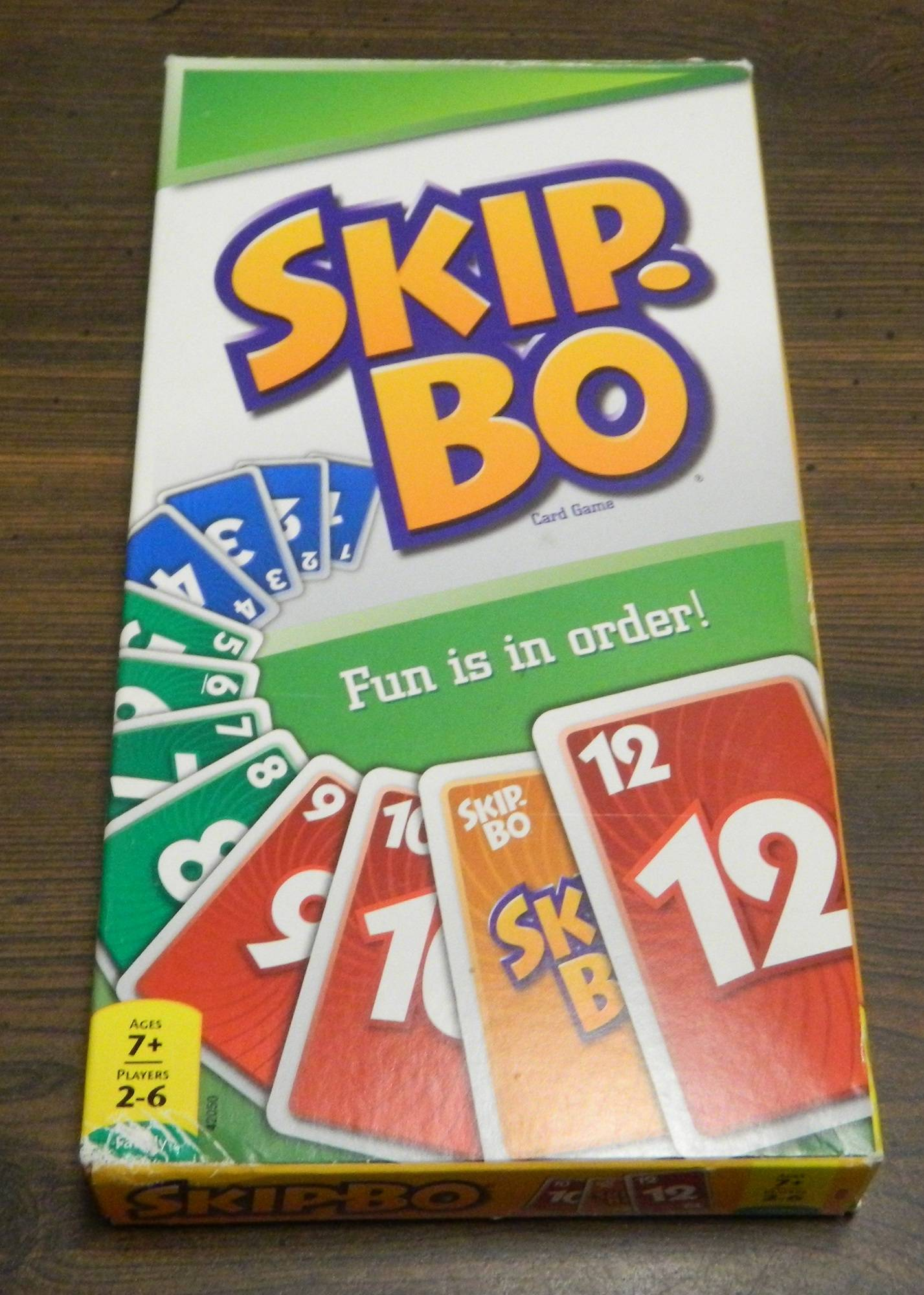 Box for Skip-Bo