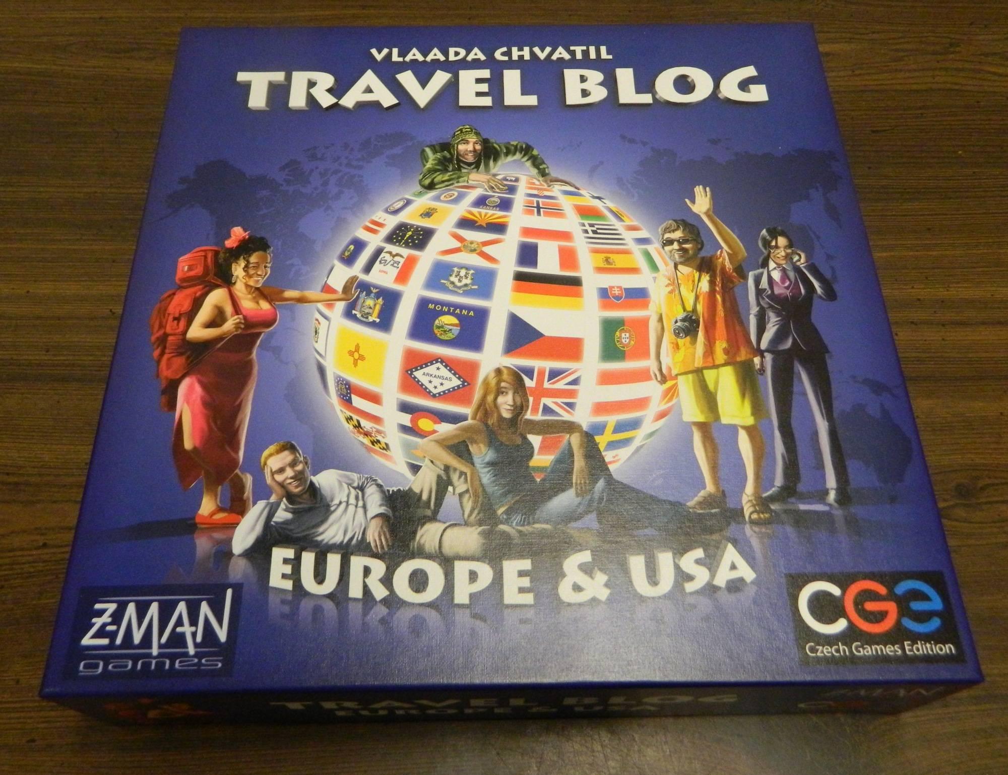 Box for Travel Blog