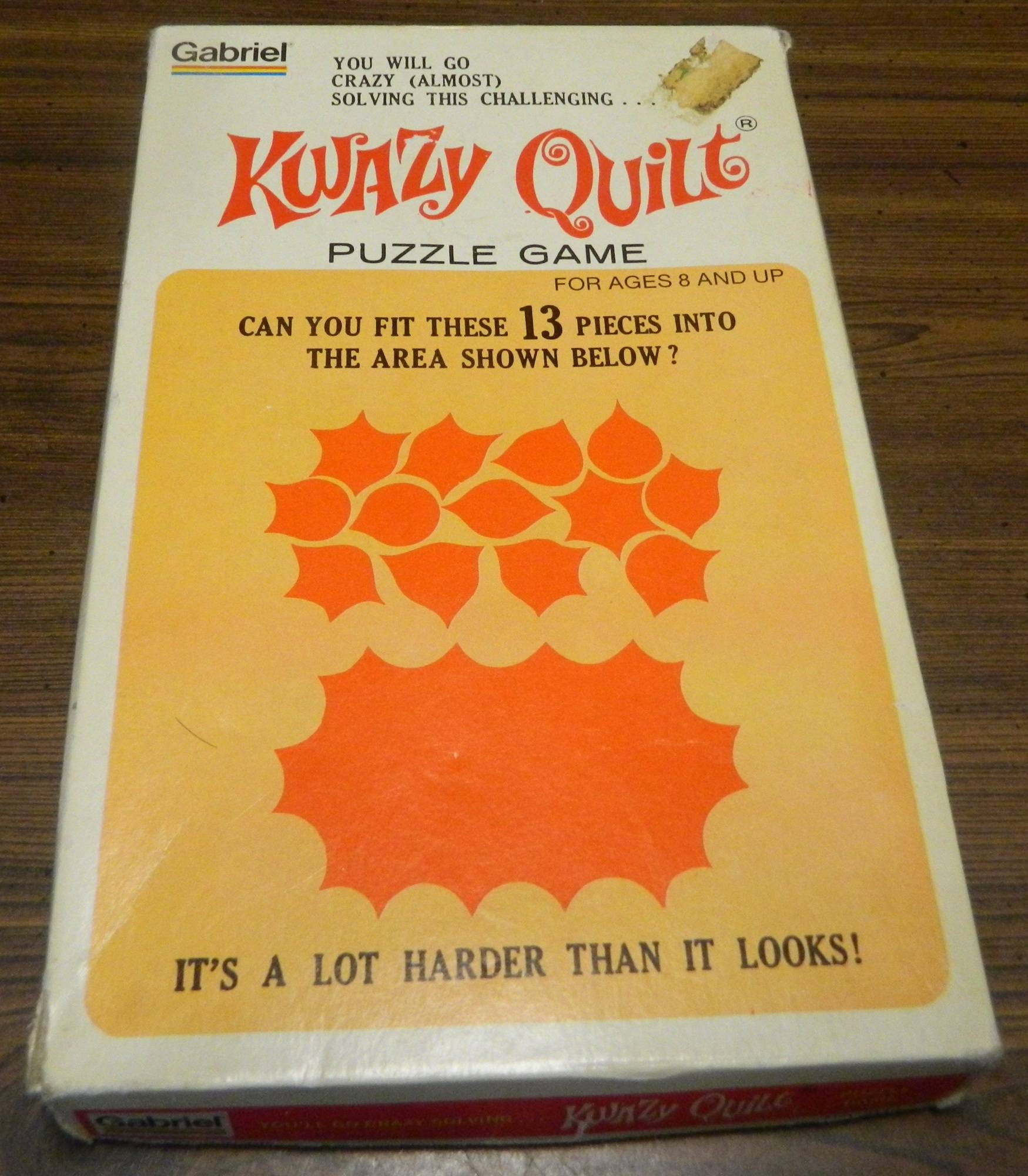 Box for Kwazy Quilt