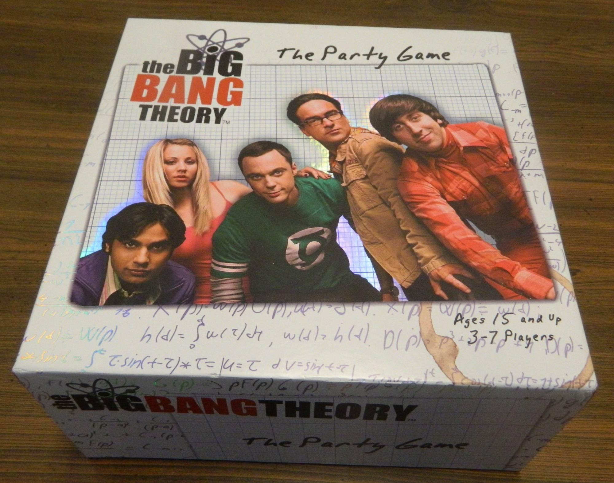 Big Bang Theory Party Game Box