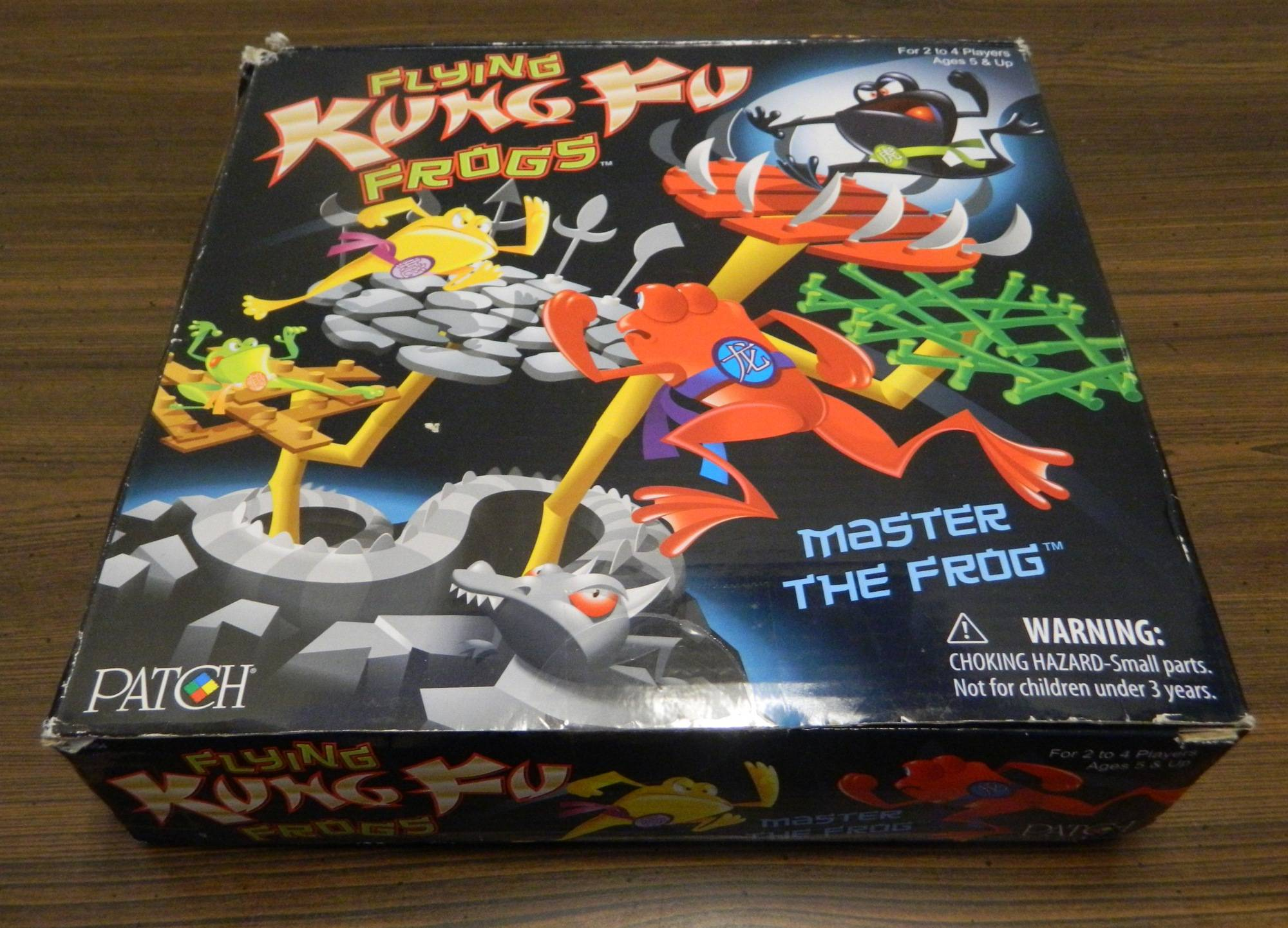 Box for Flying Kung-Fu Frogs